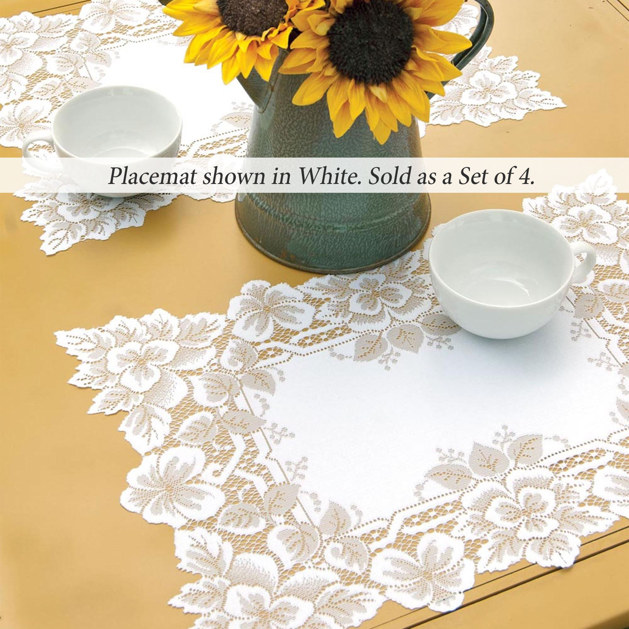 Antique Lace Round Tablecloth And Table Linens