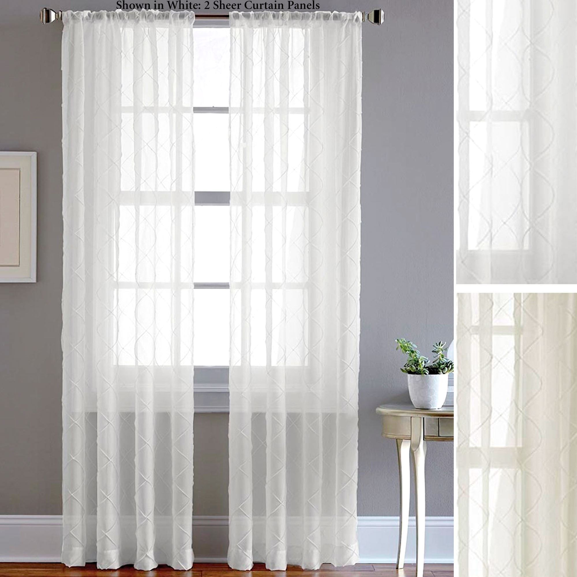 american free voile item living curtain solid shipping champagne window home bedroom country linen in color curtains garden from room sheer