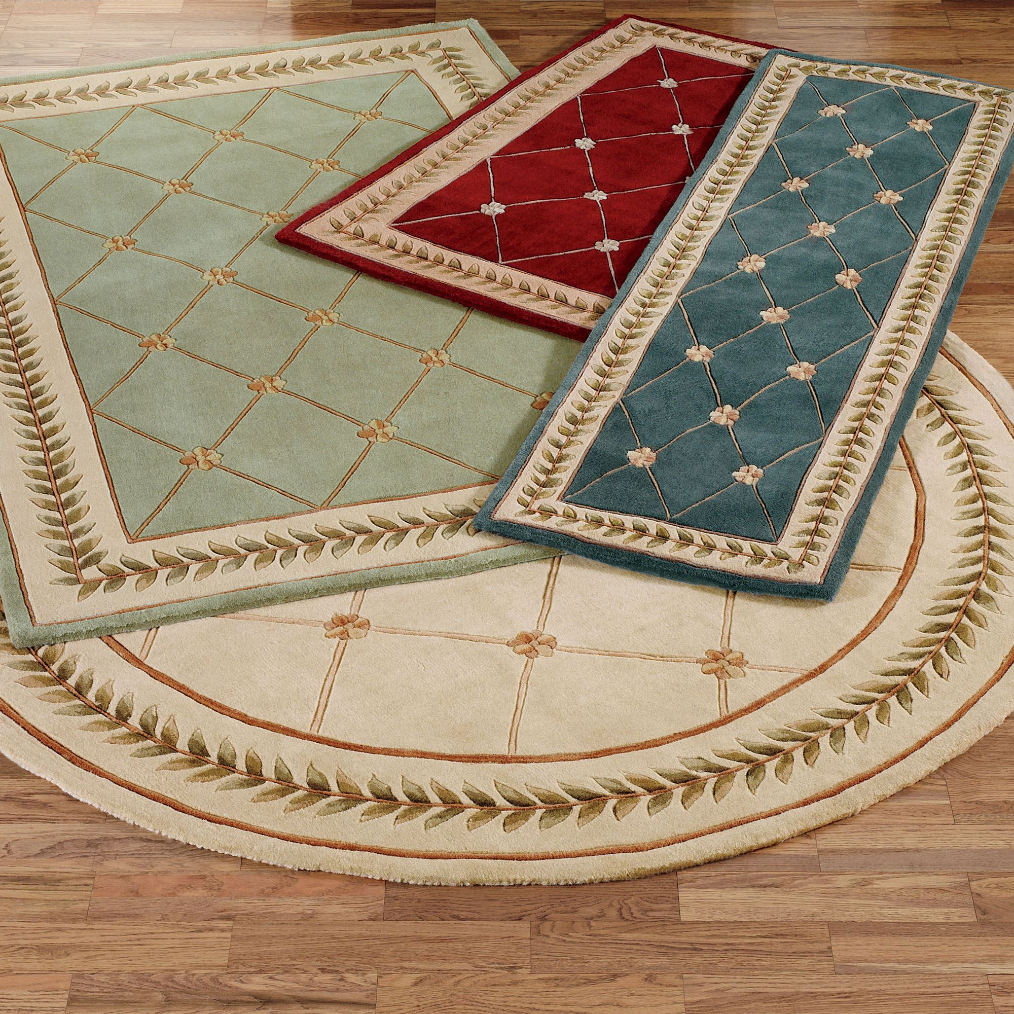 Floral trellis area rugs for Area carpets and rugs