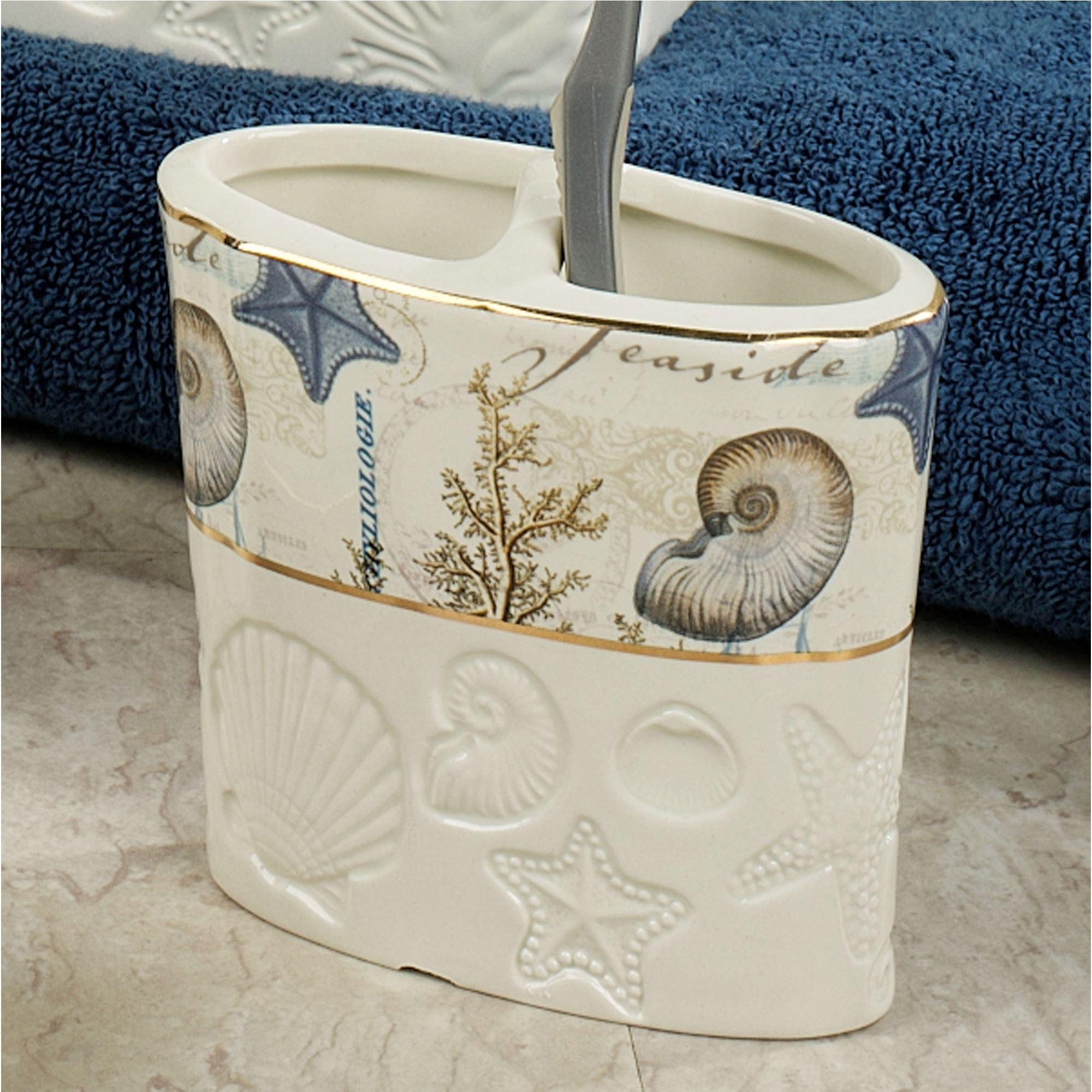 Antigua Ceramic Coastal Bath Accessories