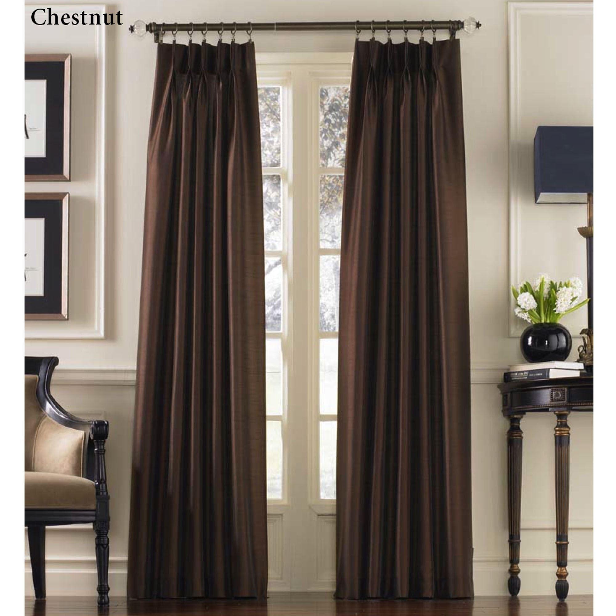 Pinch Pleat Curtain Panel