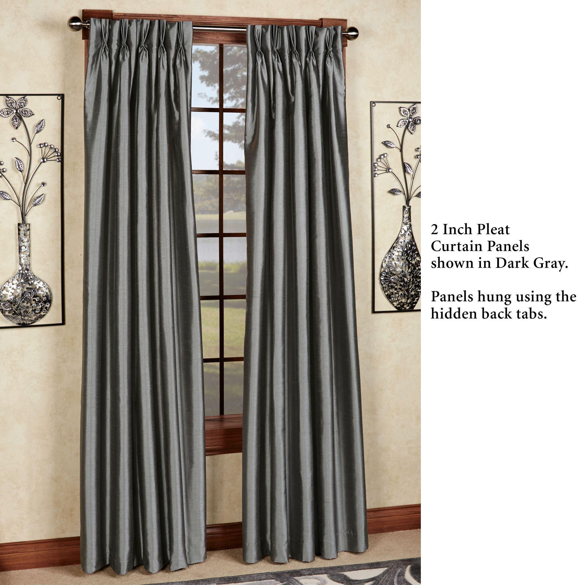 panels curtain gray panel amelia burnout curtains grommet linen p