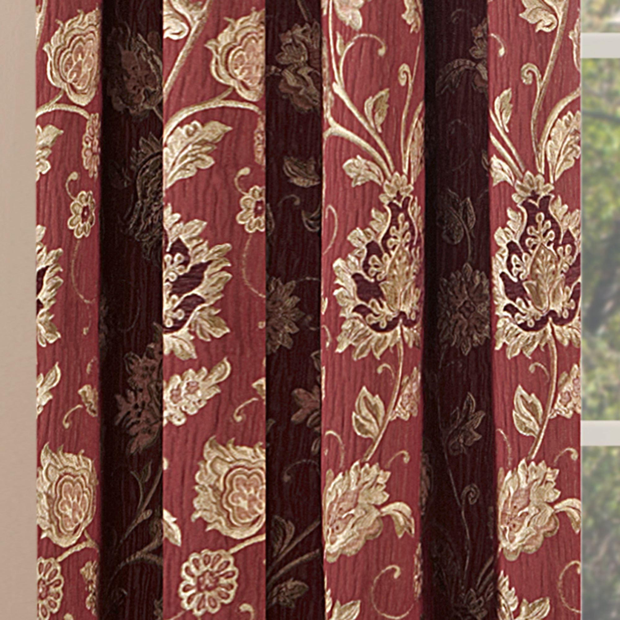 Melbourne Burgundy Tailored Panel