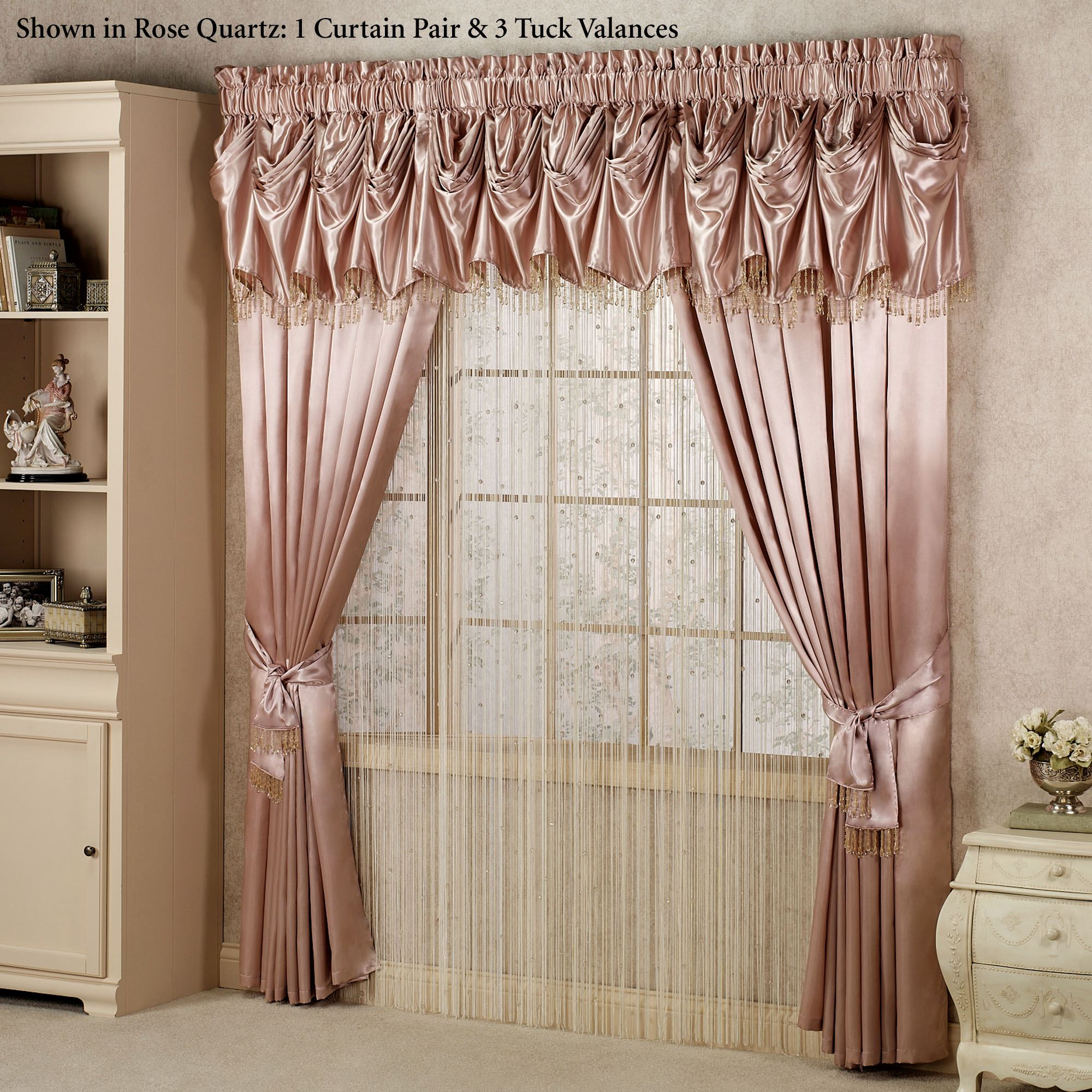 Drape Ties: Curtain Sash Tie Backs