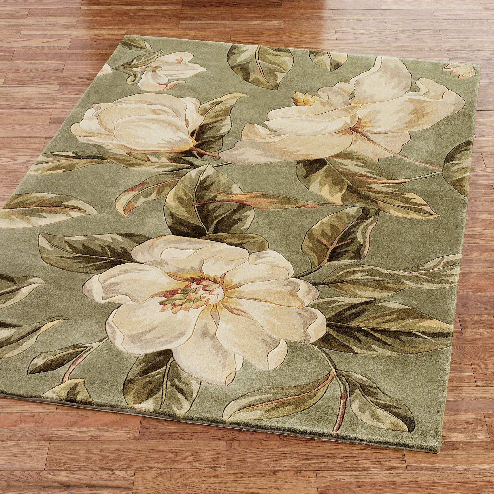 Well known Southern Beauty Magnolia Area Rugs NK01