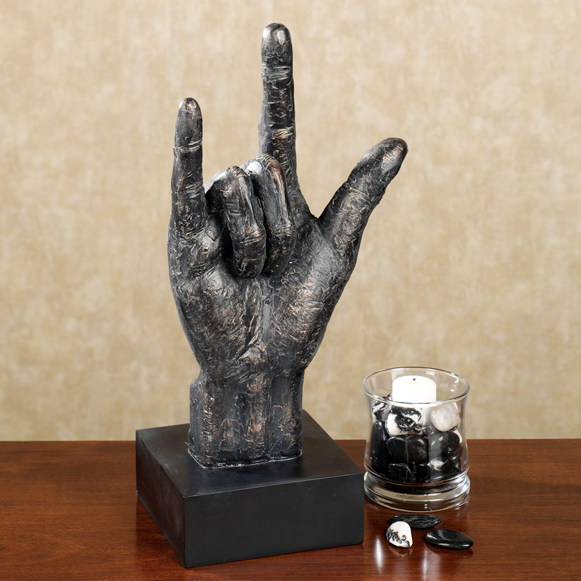 Awesome I Love You Table Sculpture. Click To Expand