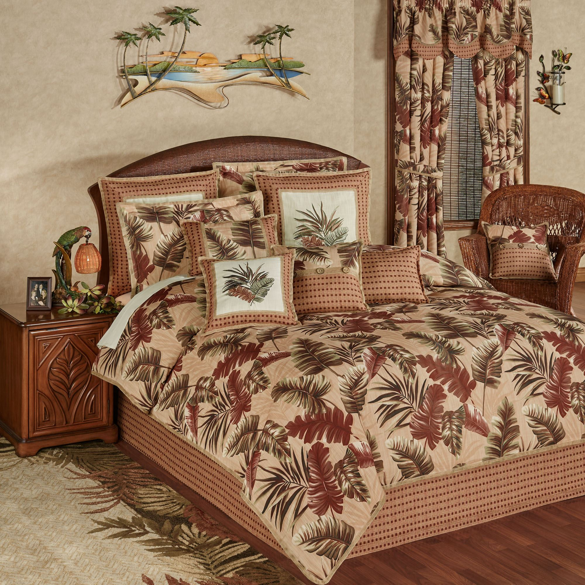 Key West Tropical Comforter Bedding