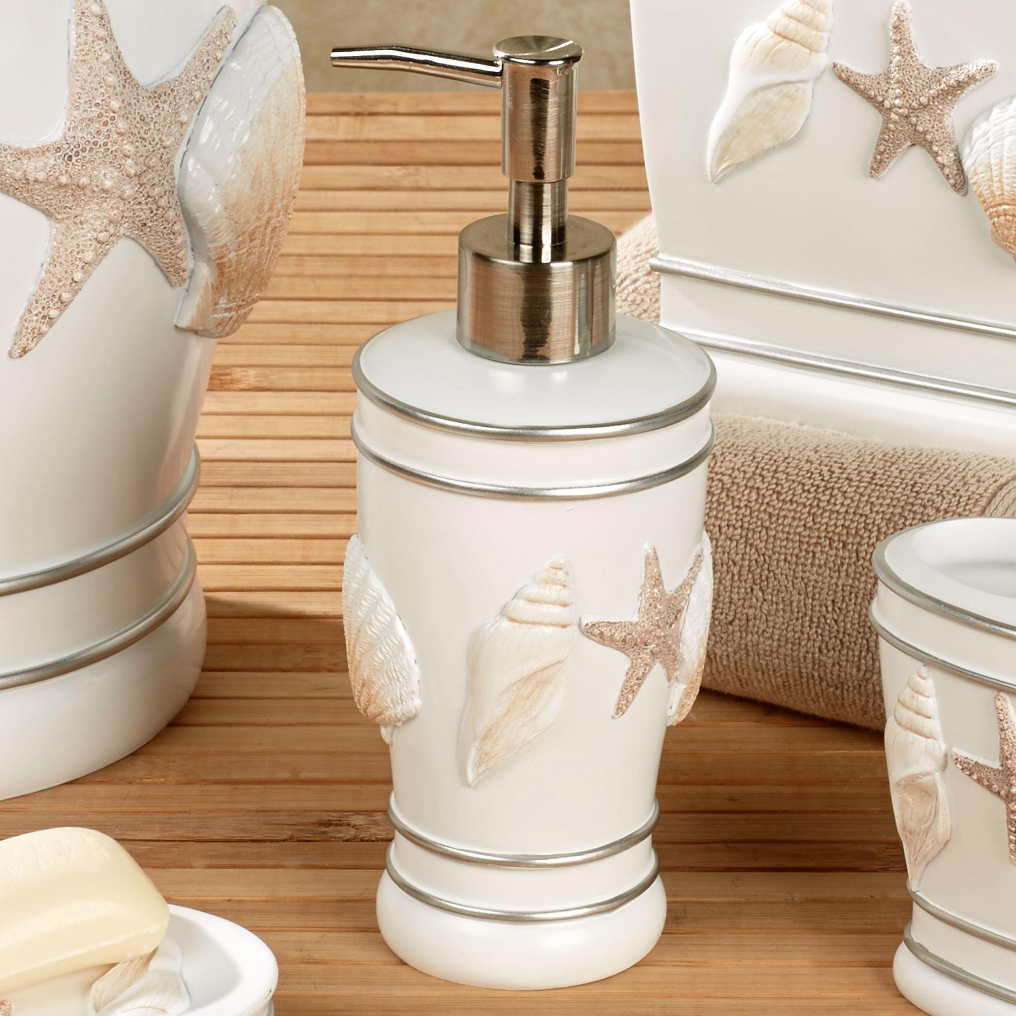 Cape Cod Lotion Soap Dispenser White