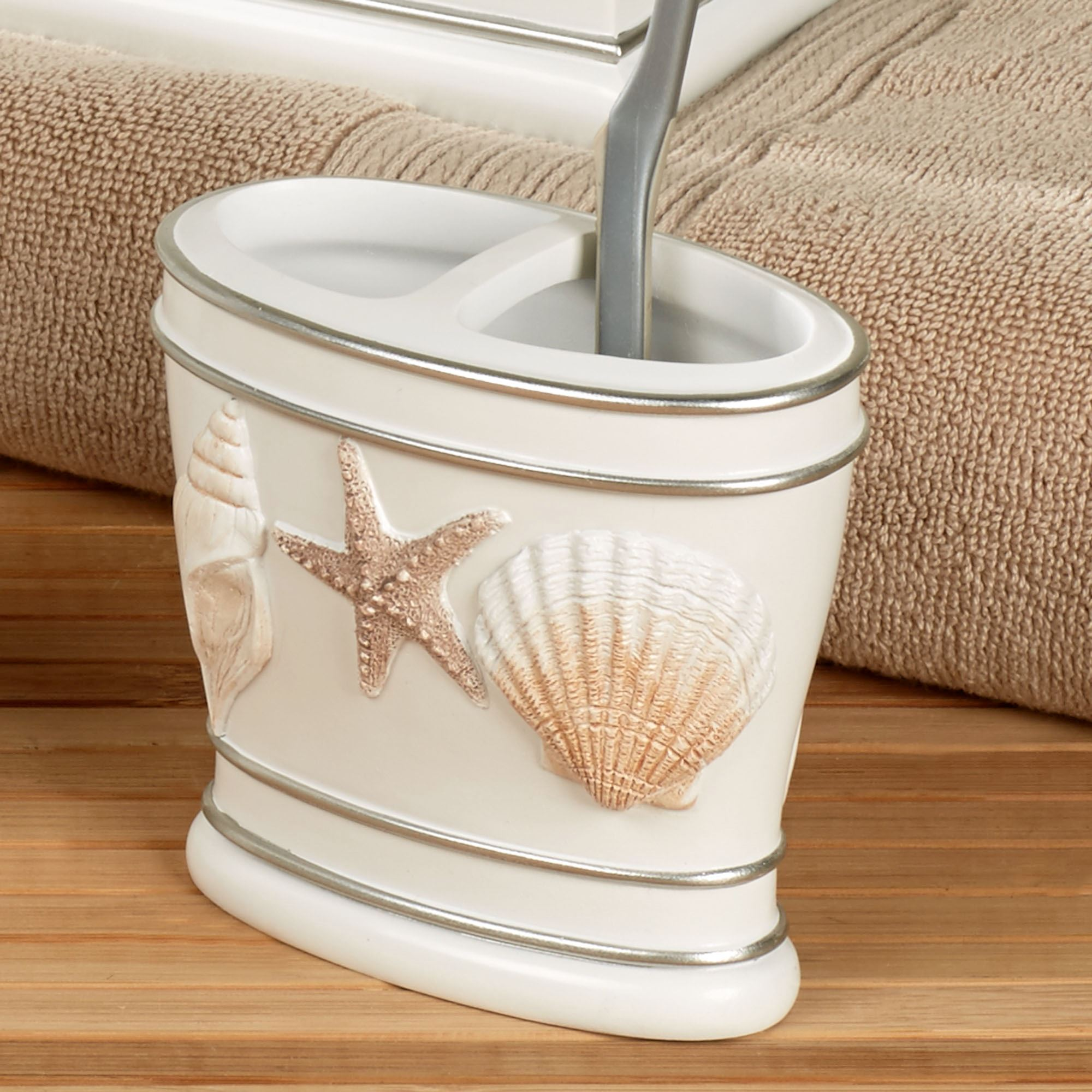 Cape Cod Toothbrush Holder White