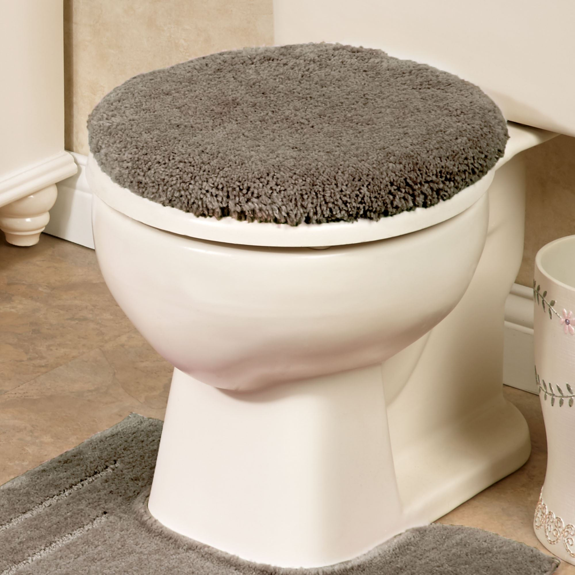 Peachy Soho Solid Color Toilet Lid Cover Lamtechconsult Wood Chair Design Ideas Lamtechconsultcom