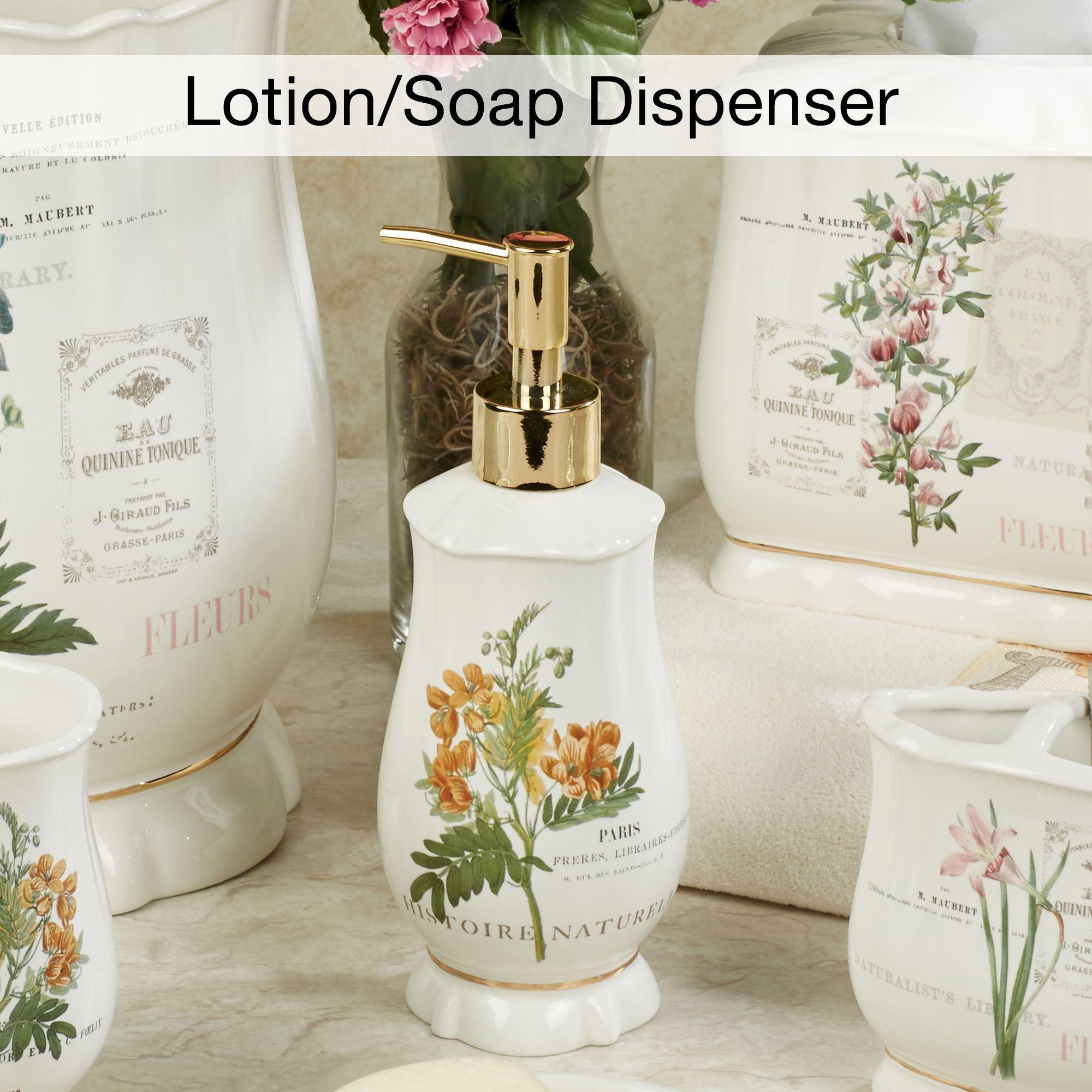 Merveilleux Alana Lotion Soap Dispenser Ivory