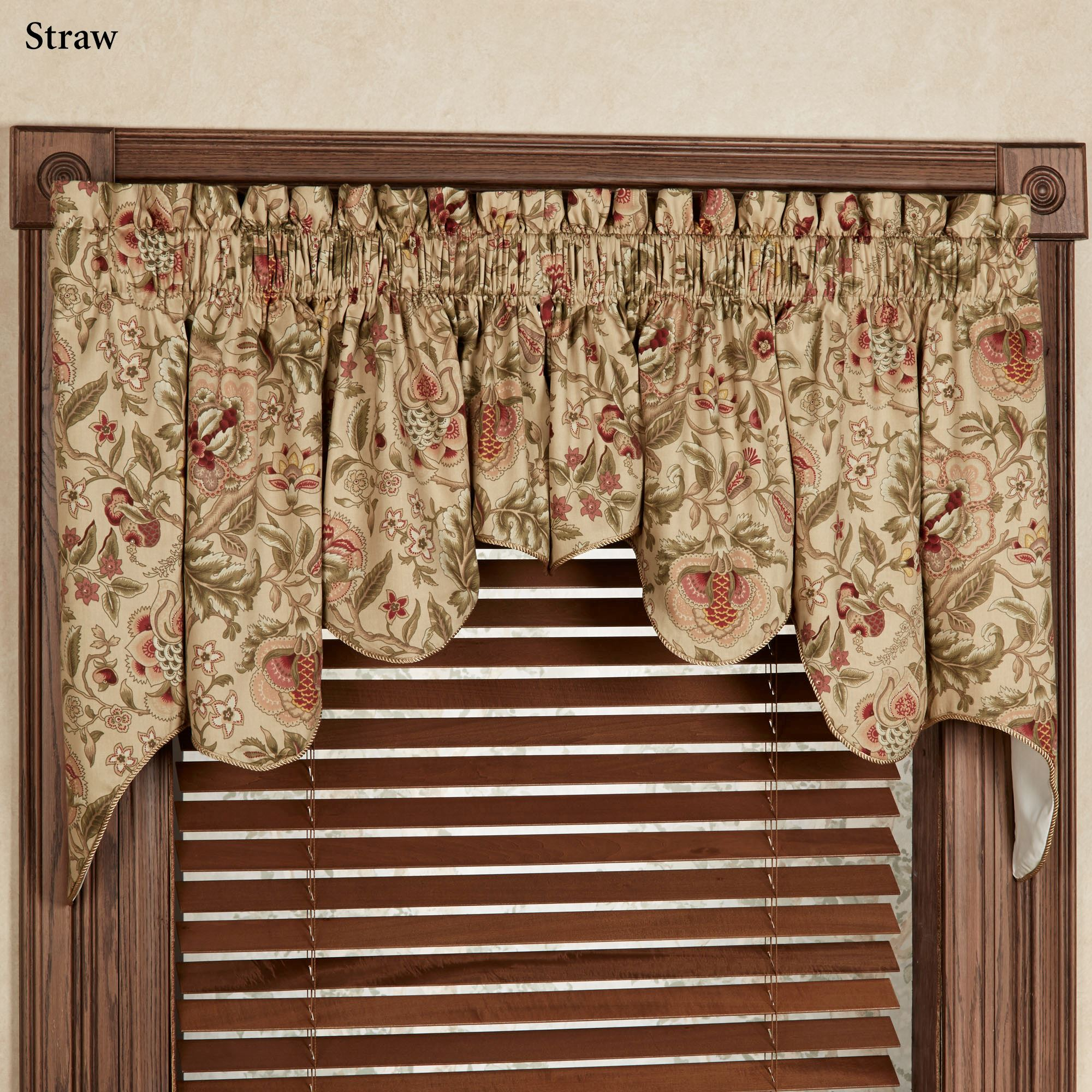 Regency Duchess Swag Valance Pair 100 X 30