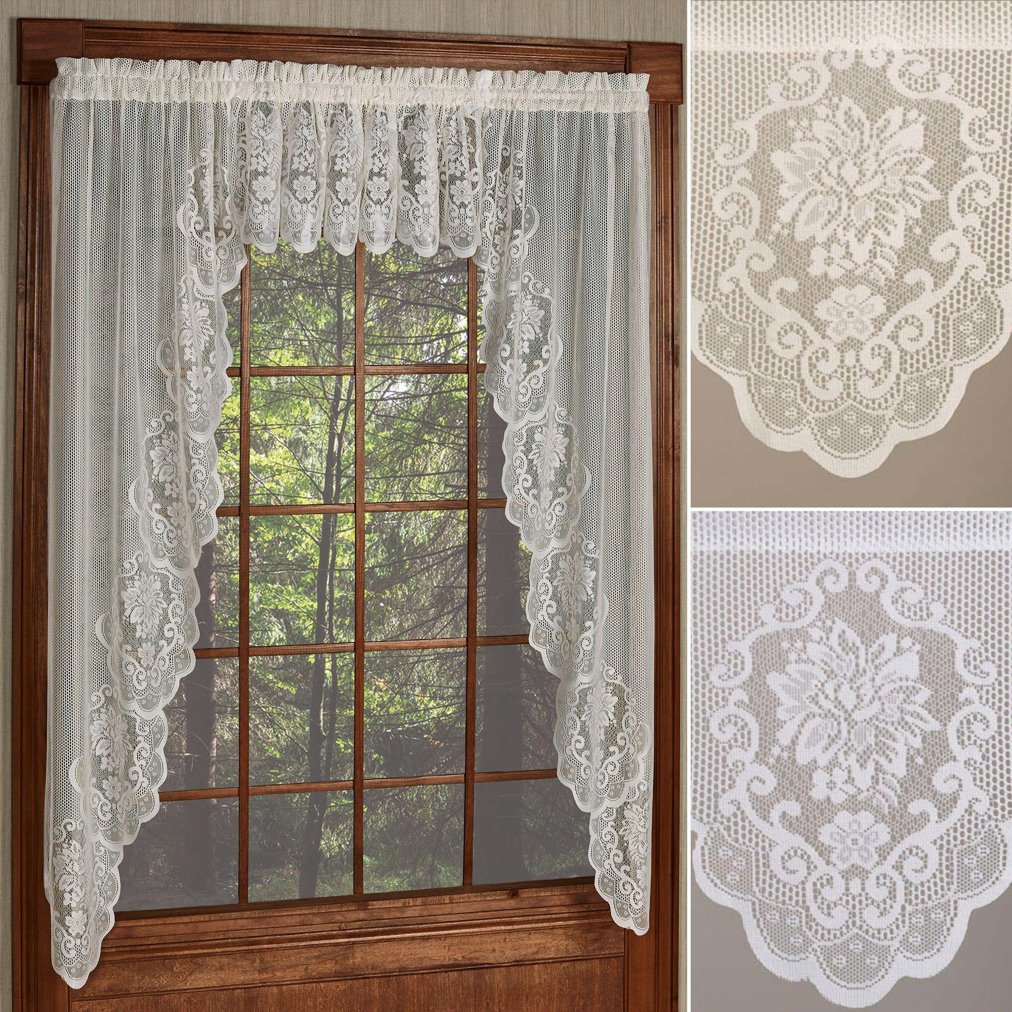 Fairmount Lace Window Valances