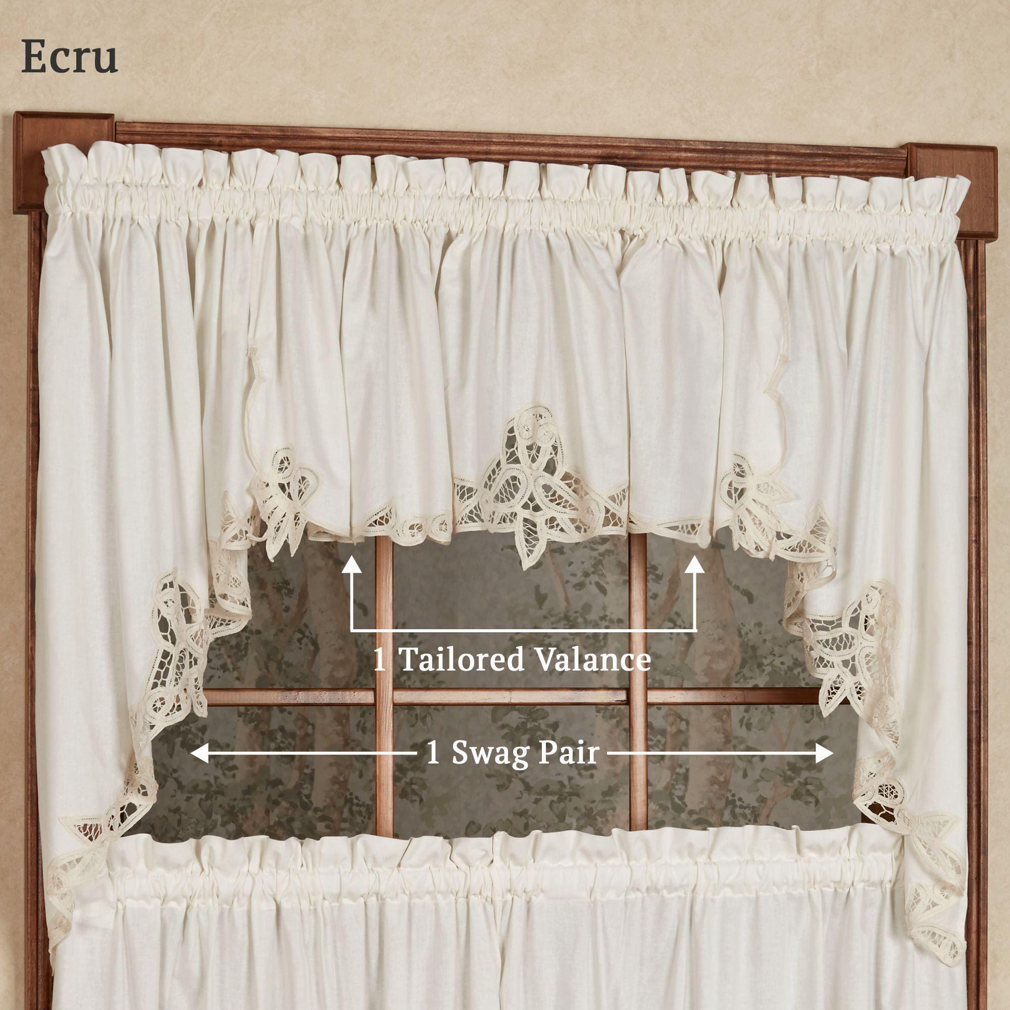 Battenburg Lace Curtains