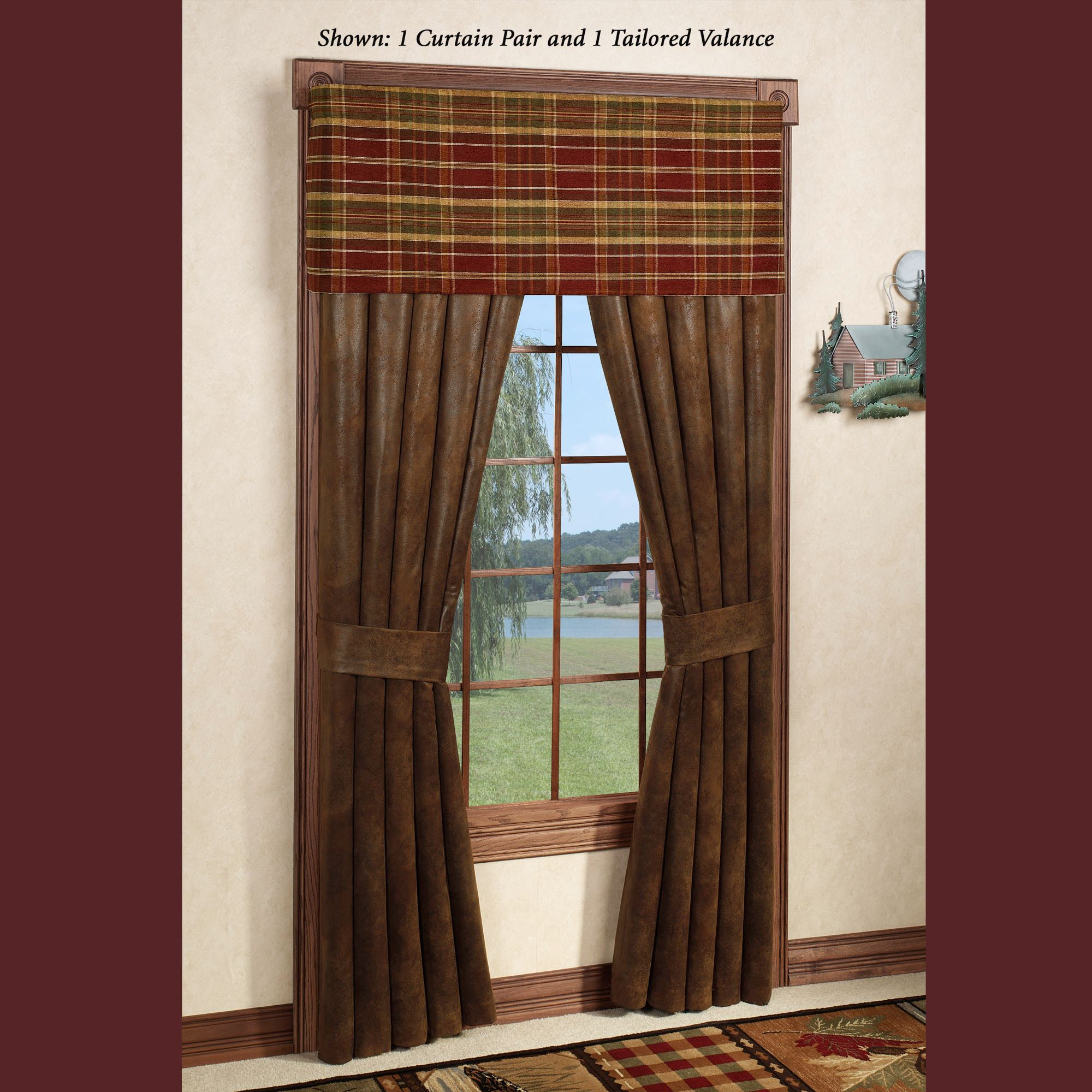 Montana Morning Rustic Window Treatment
