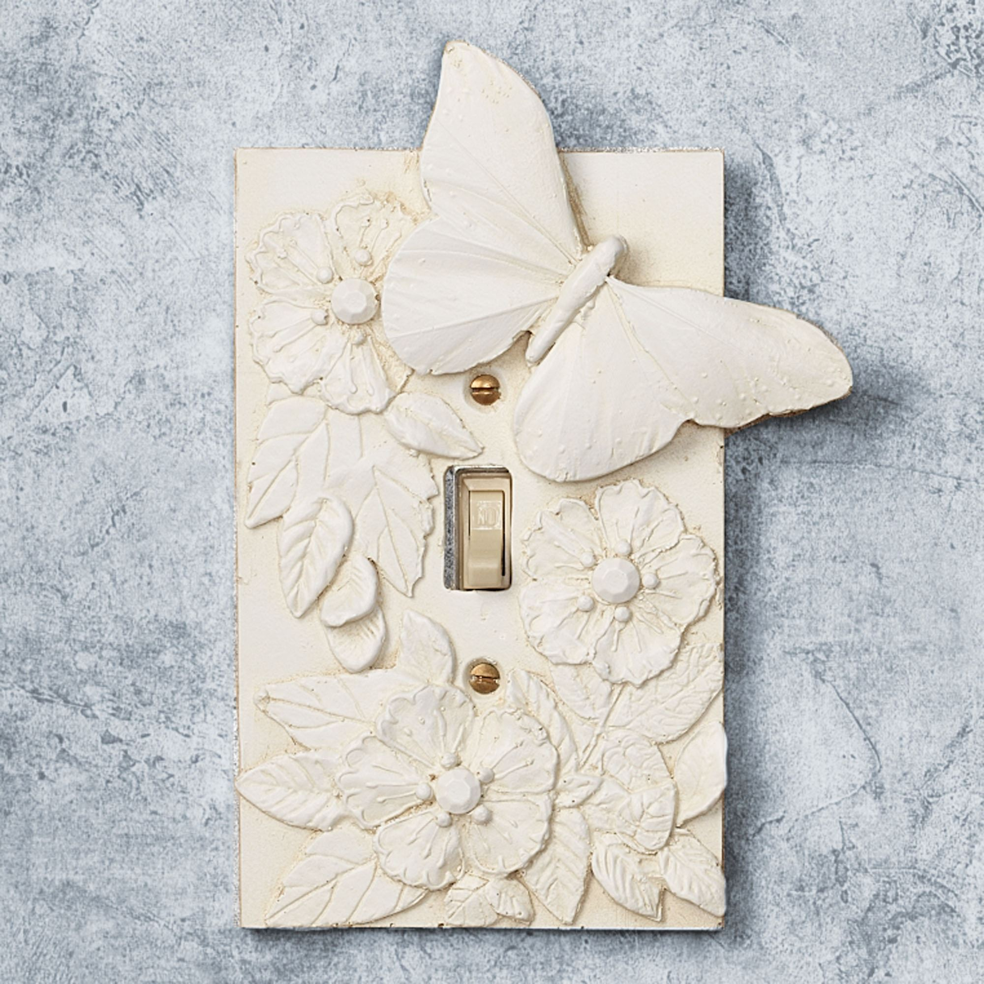 Decorative Switchplates Butterfly In Bloom Large Decorative Switchplates