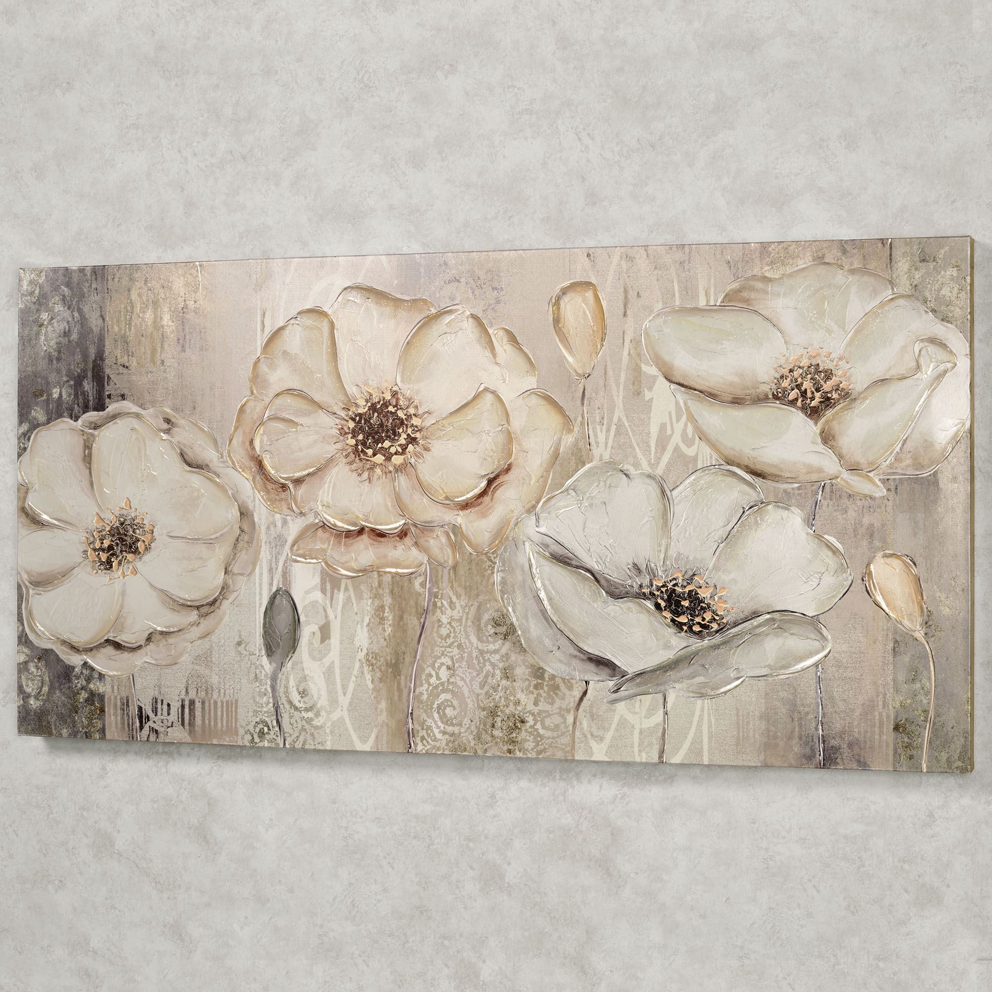 Floral Elegance Canvas Wall Art