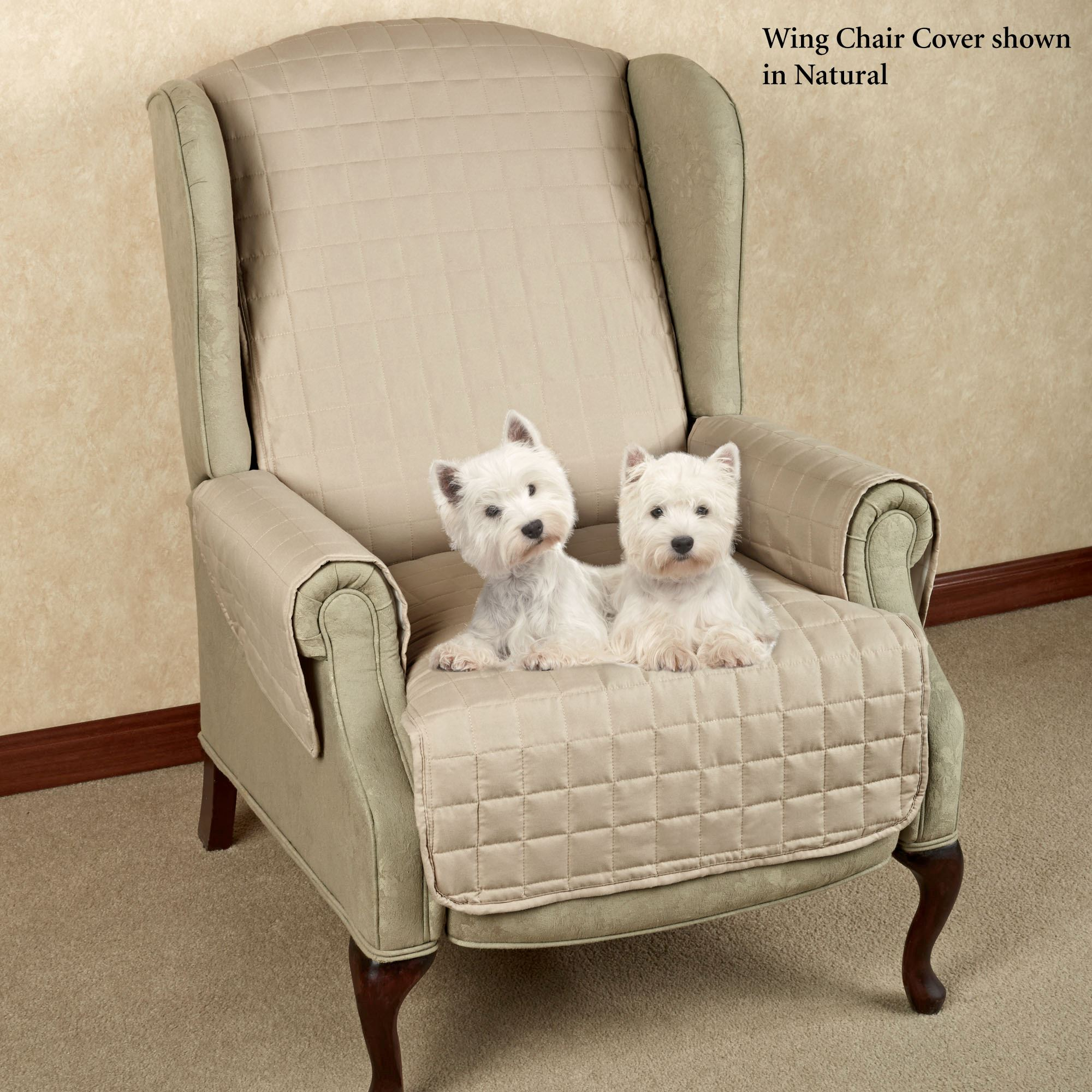 Microfiber Pet Furniture Covers With Tuck In Flaps