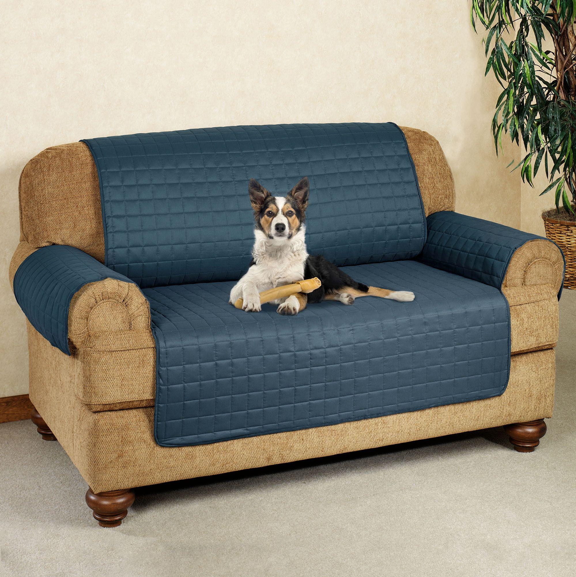 High Quality Microfiber Pet Furniture Loveseat Cover
