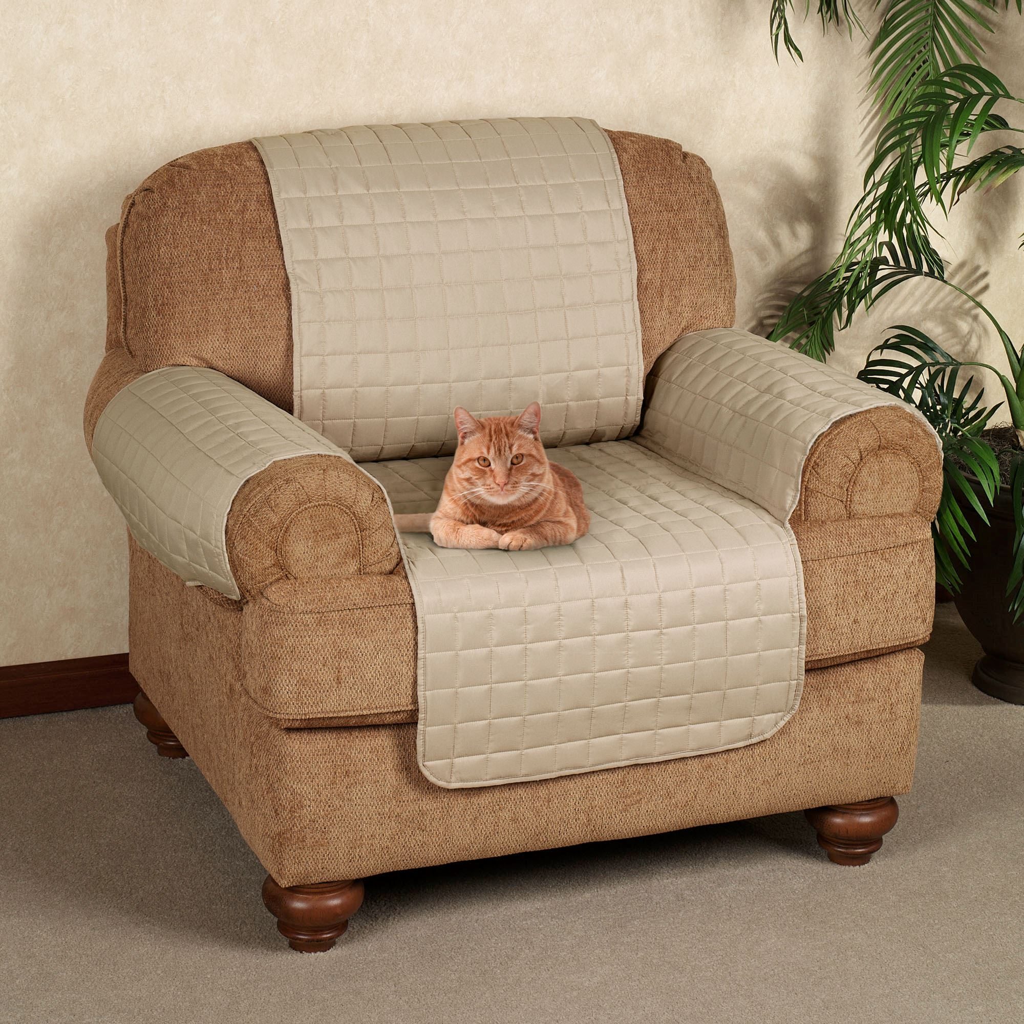 Awesome Microfiber Pet Furniture Chair Cover Chair
