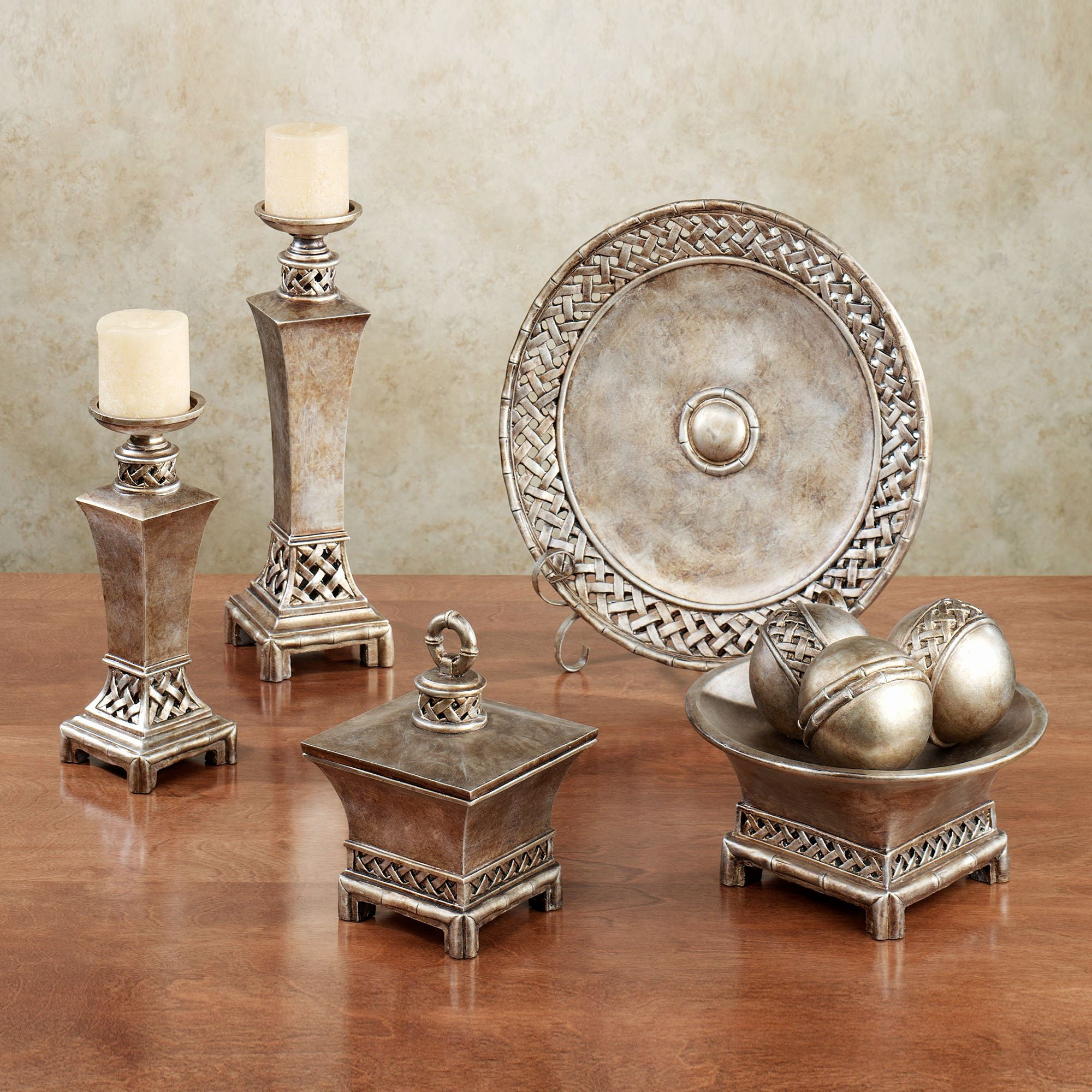 Landrum Decorative Home Accents Bronze Set Of Nine. Click To Expand