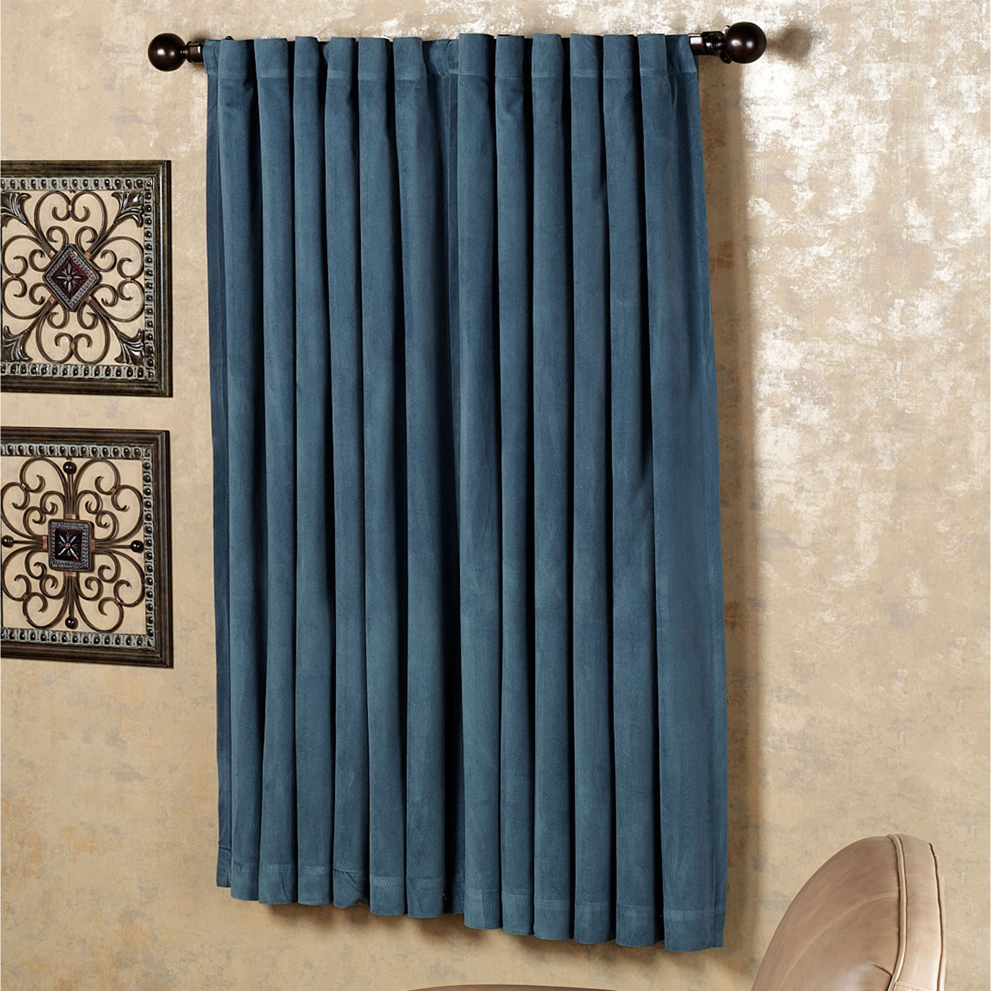 Nice Black Curtains Part - 7: Click To Expand