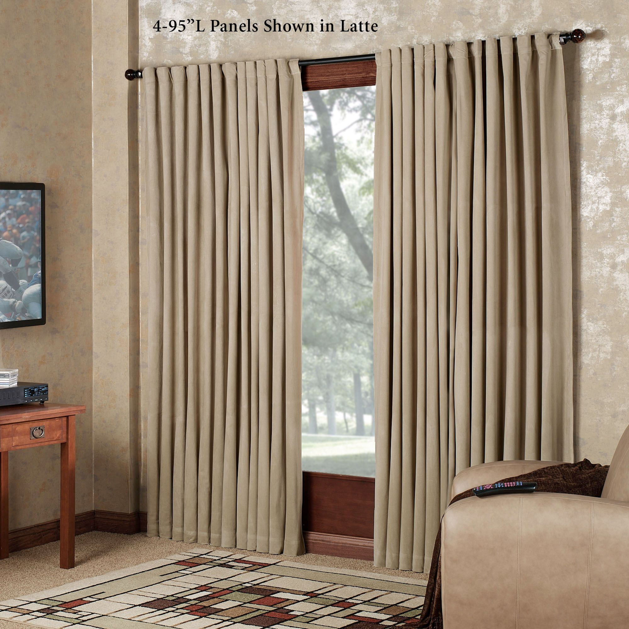 Absolute Zero Eclipse Home Theater Blackout Curtain Panel
