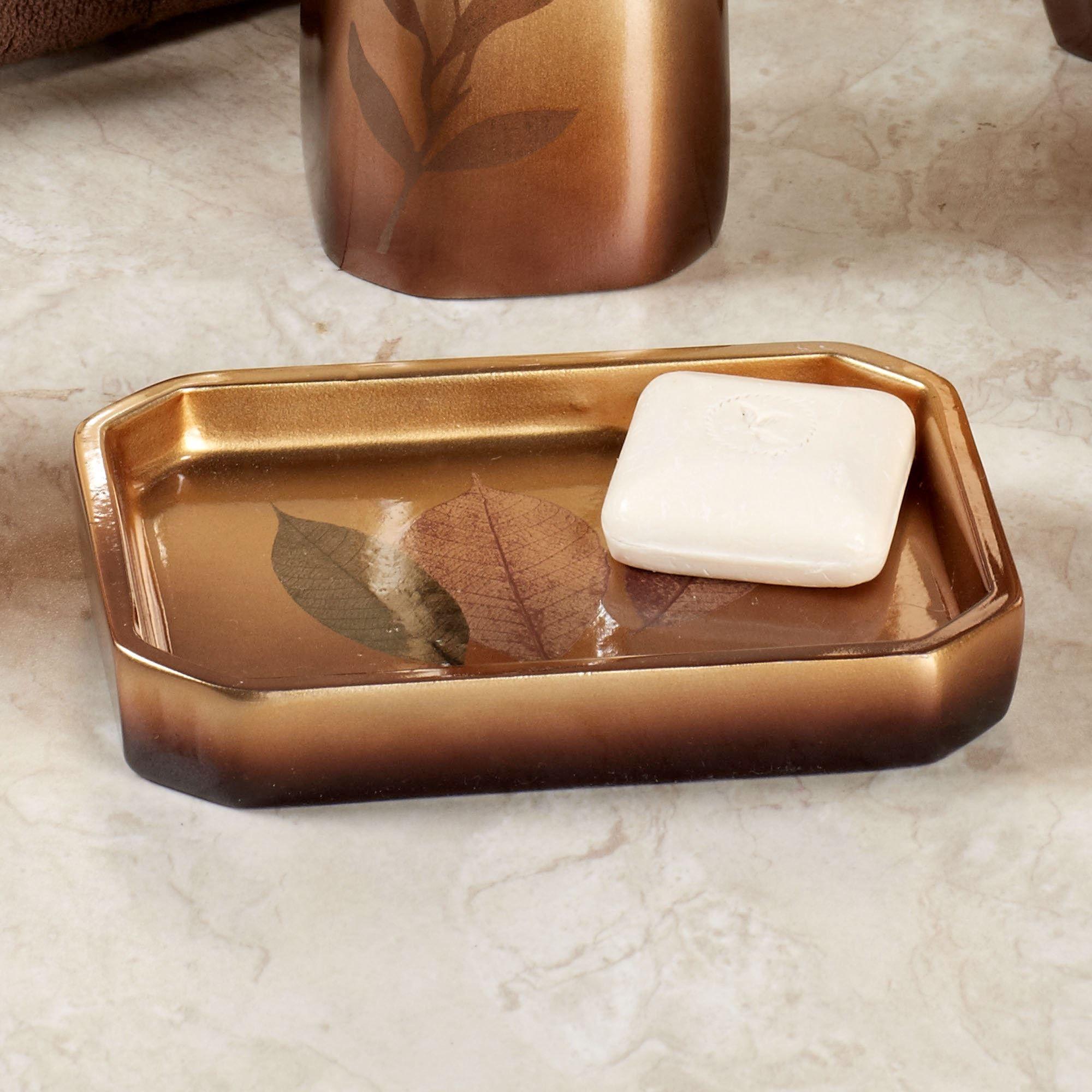 Sheffield Leaf Bath Accessories