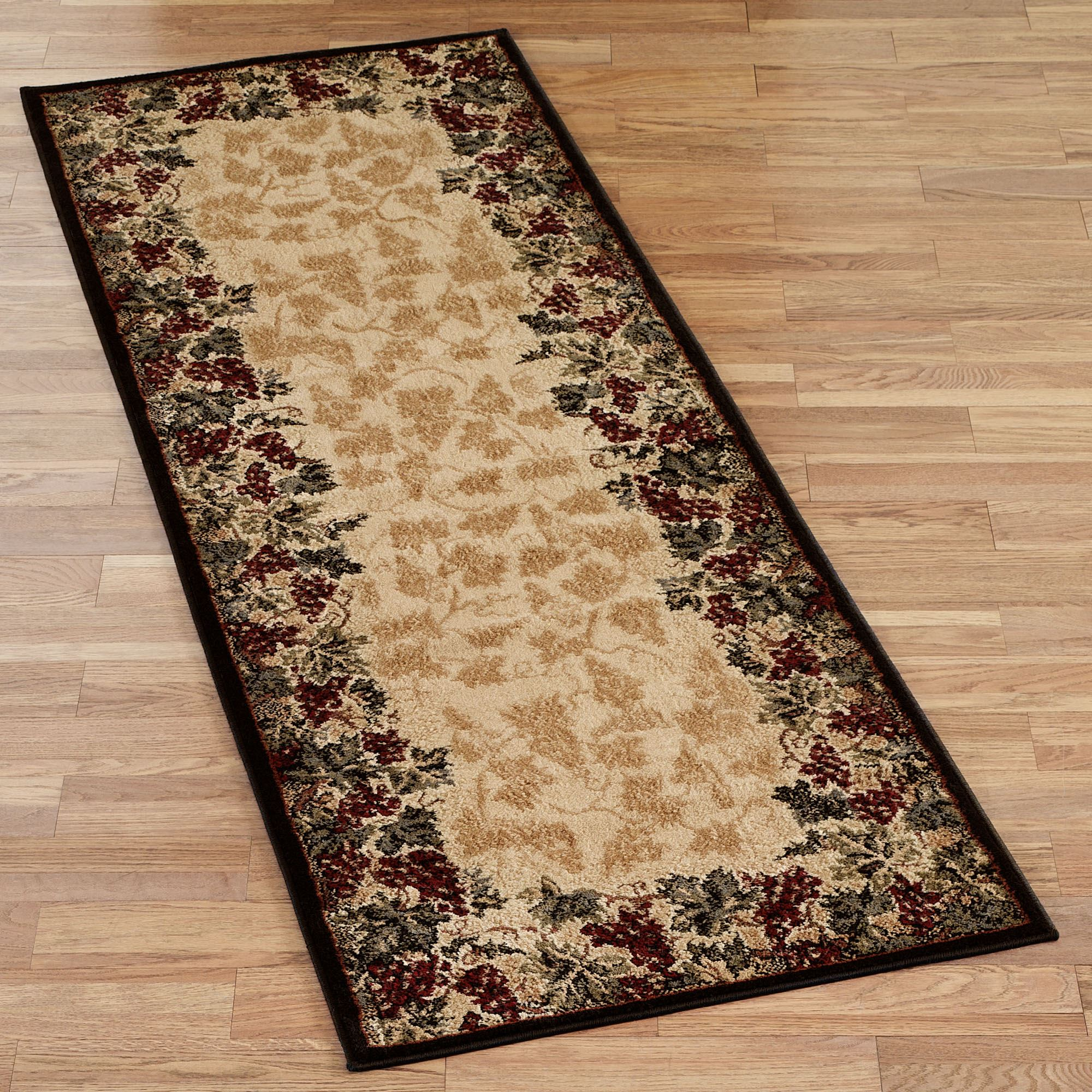 Marvelous Beaujolais II Runner Rug Beige 27 X 76