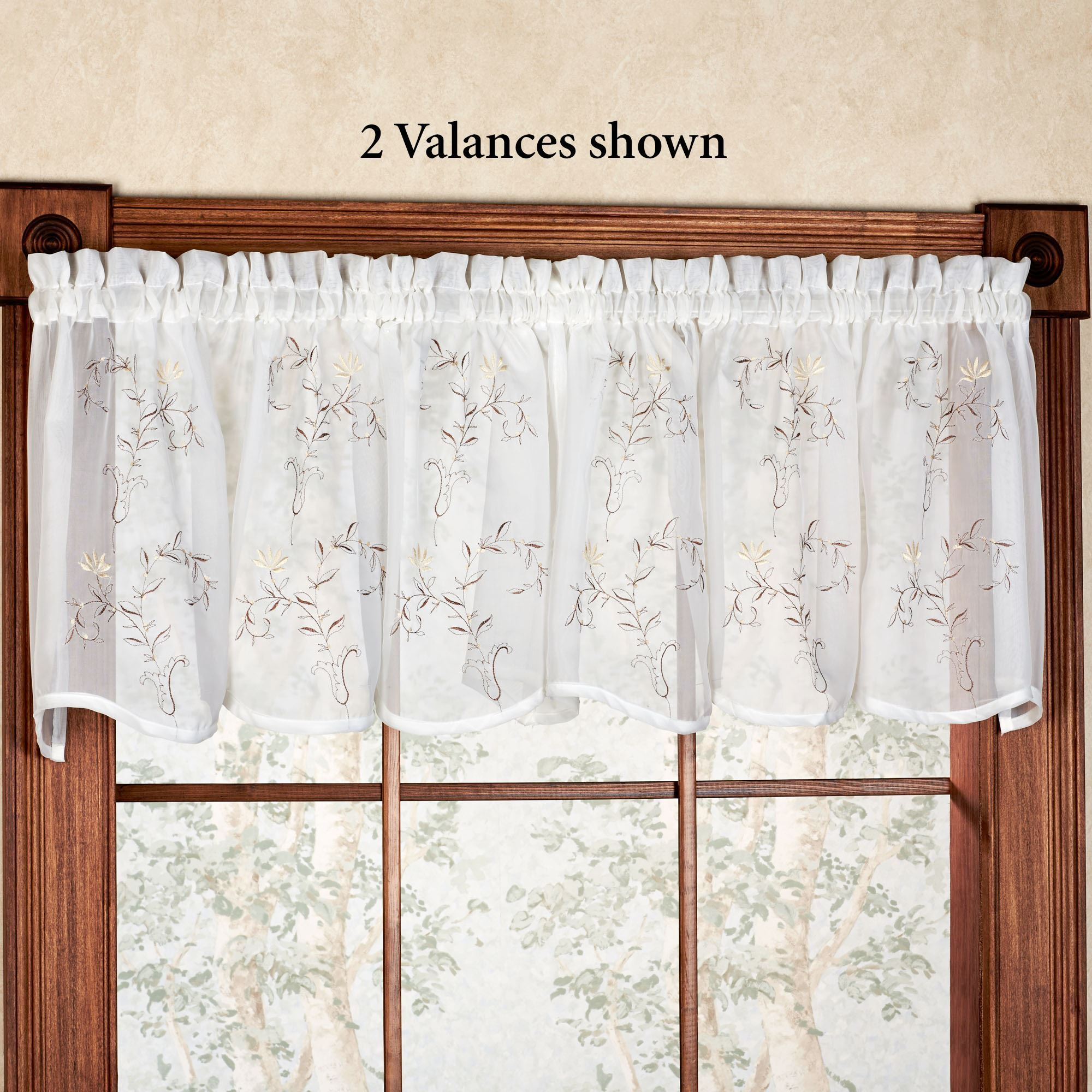 drapes curtains valance beige sheer cream ivory eyelet fabric itm pleat swag curtain pelmet