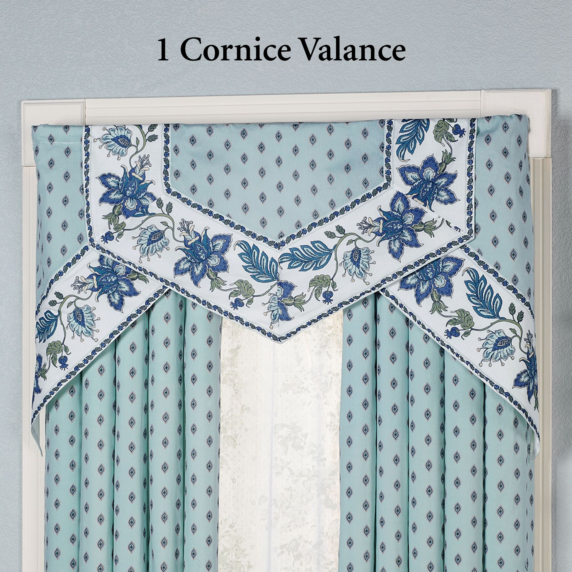 valance a drapes home custom the with inspect of kitchen cornice cabinets match gallery