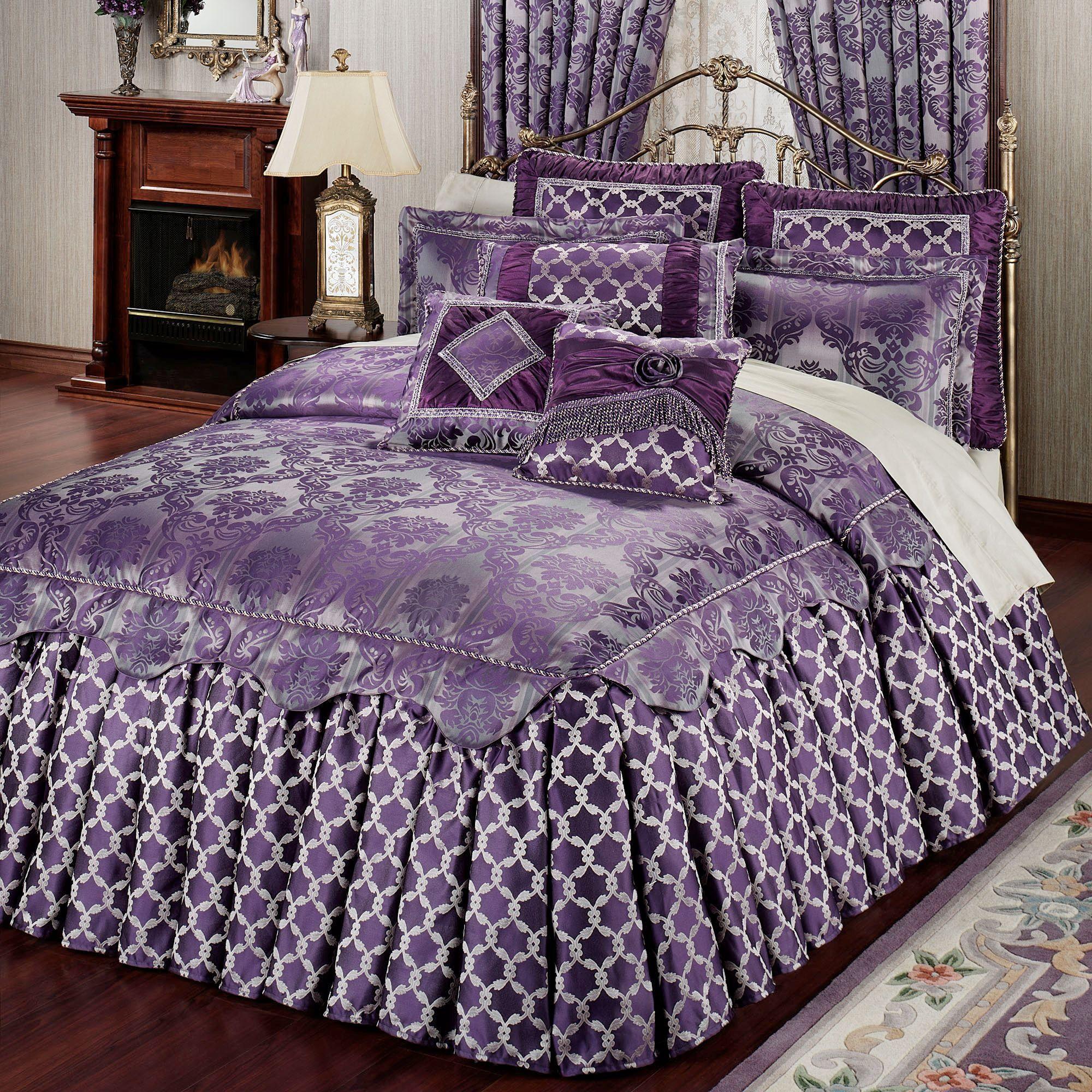 Renaissance Ruffled Flounce Grande Bedspreads