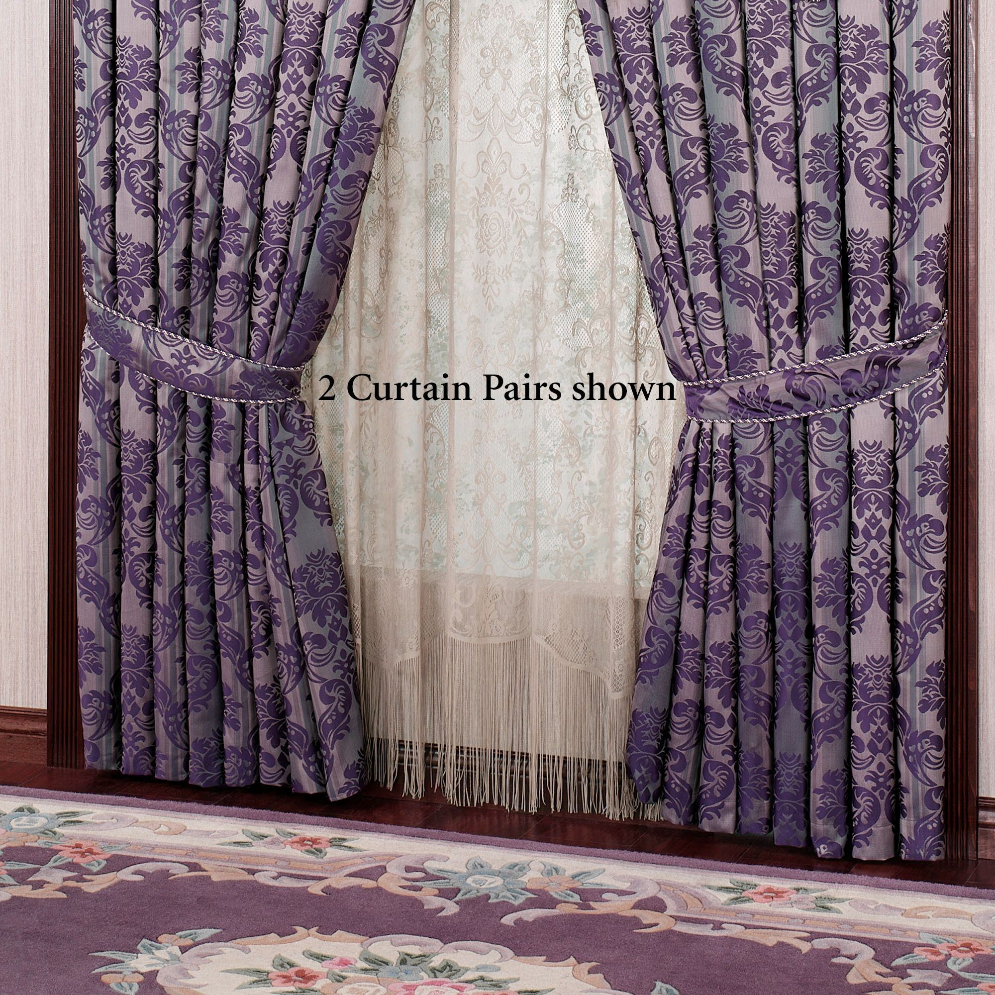 l greenite less overstockcom drapes damask curtains for