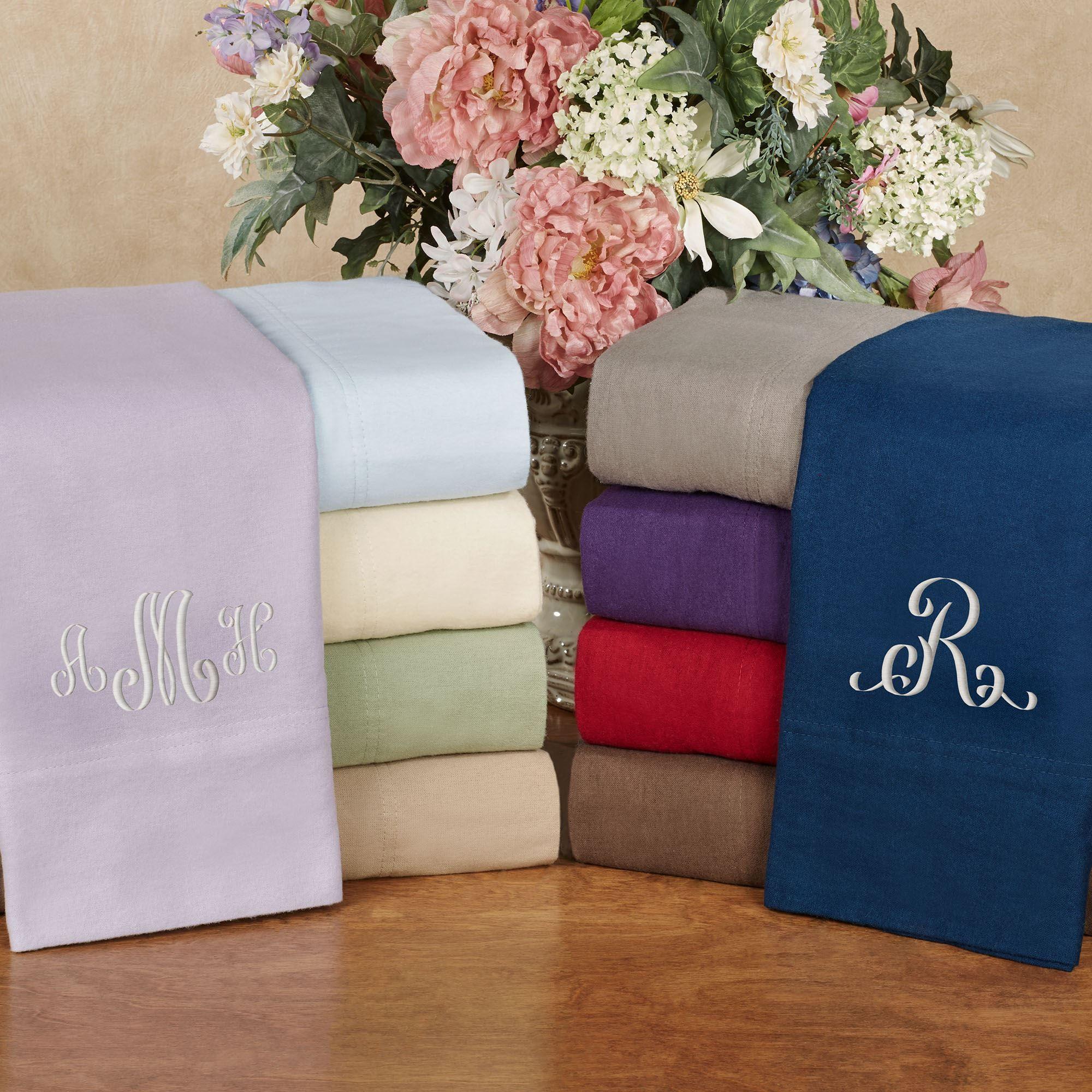 170 Gsm Extra Deep Pocket Solid Flannel Sheet Set