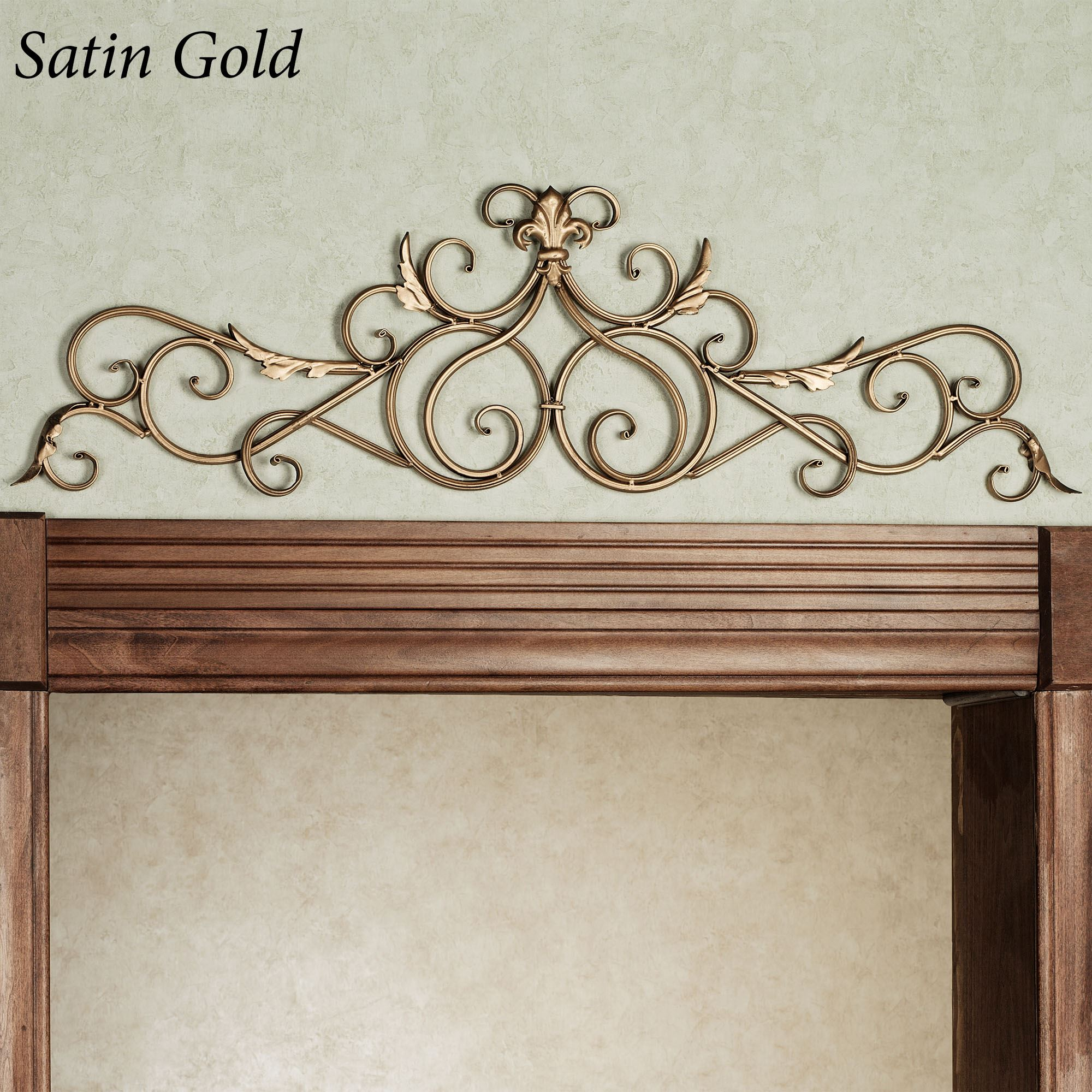 OUR DESIGN. Salvatoria Scroll Topper & Salvatoria Scroll Topper