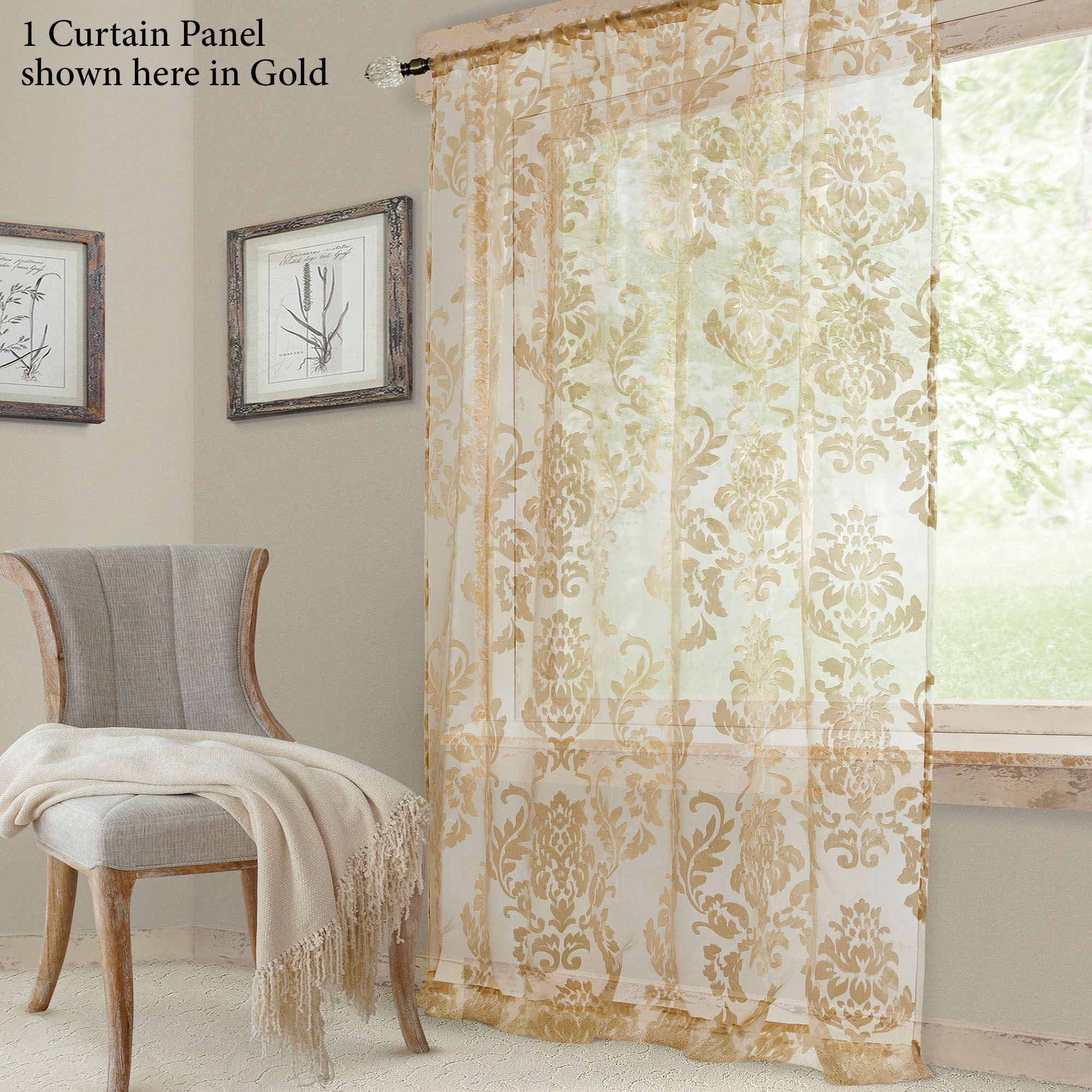 60 Inch Panel Curtains For Kitchen