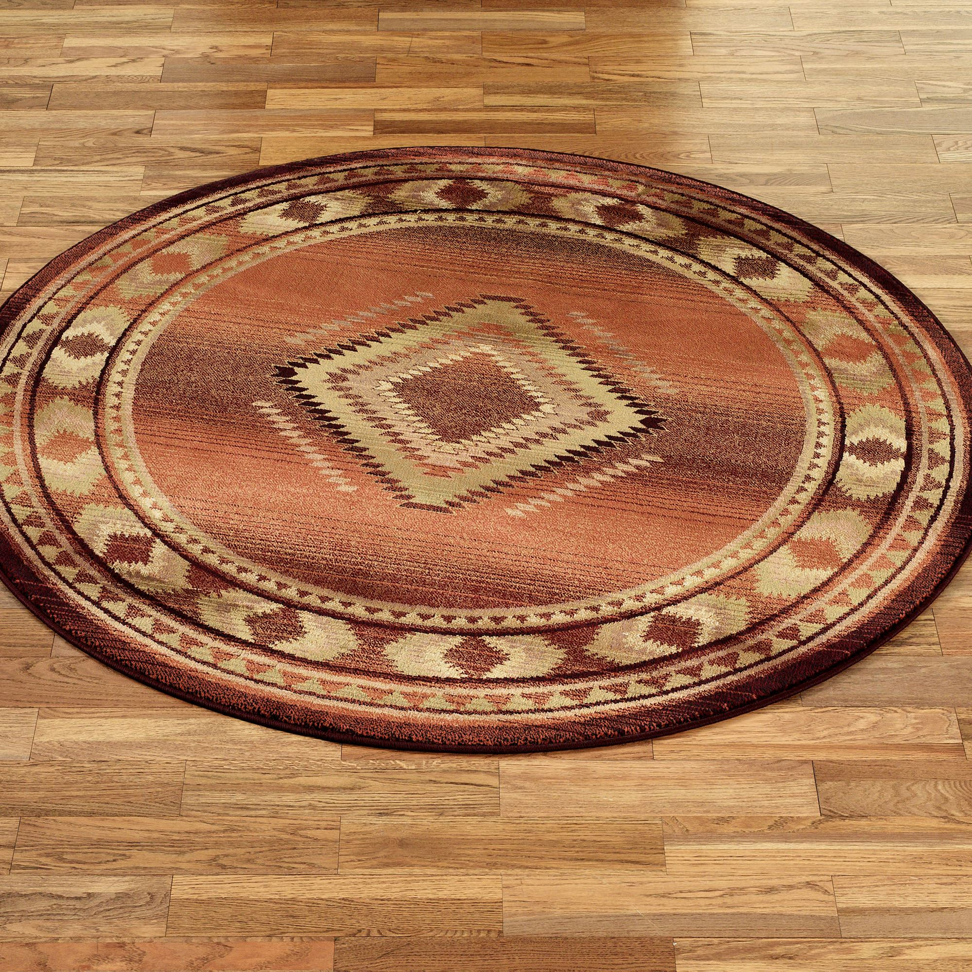 How To Use Round Area Rugs Area Rug Ideas