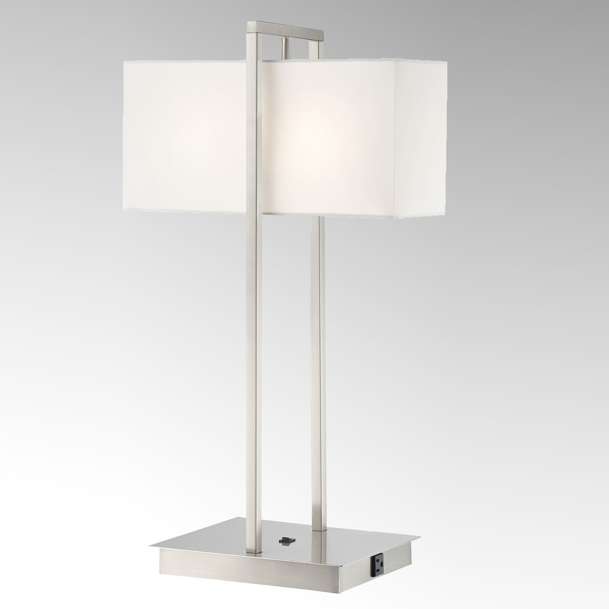 Lamp With Outlet And Usb Gnubies Org