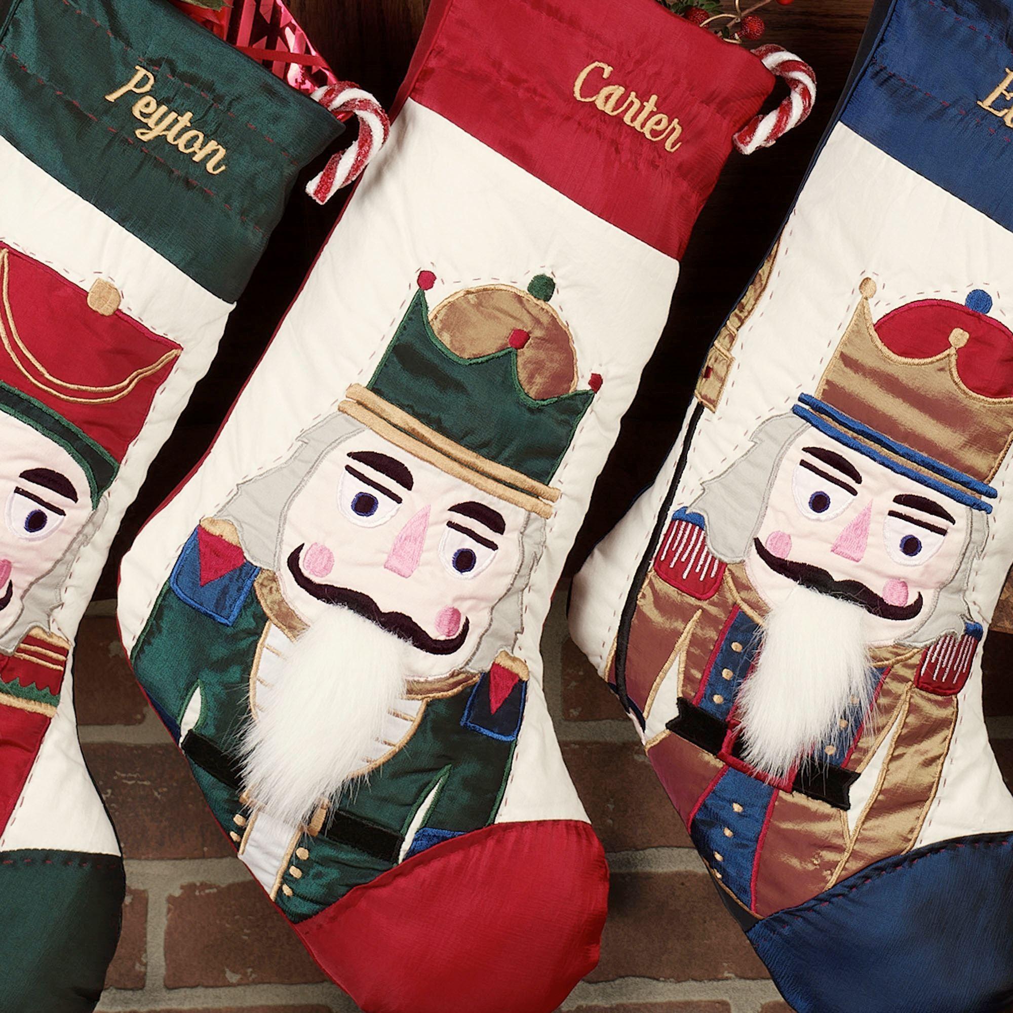 Nutcracker Christmas Stockings