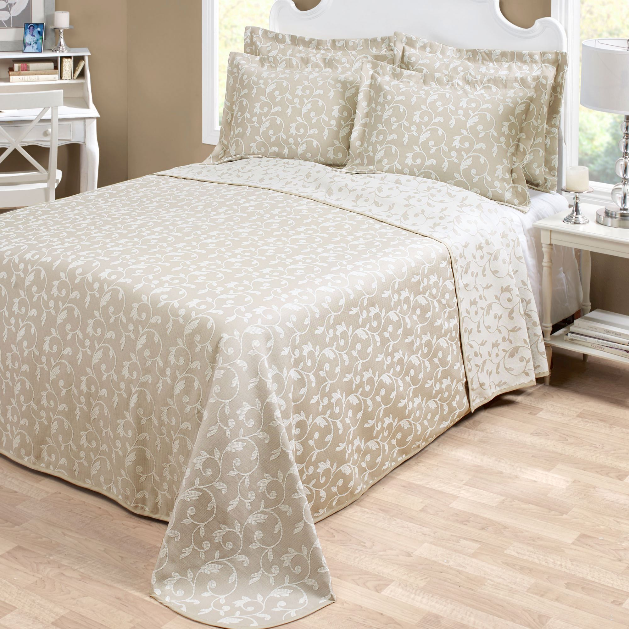 charles matelasse product free bedspread overstock king bedding bed today historic bath shipping charleston