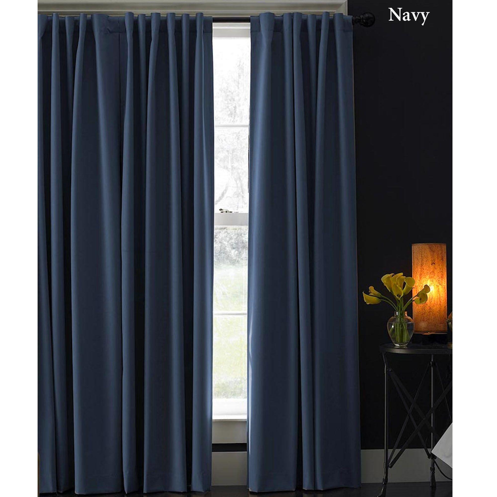 Saville Room Darkening Curtain Panels