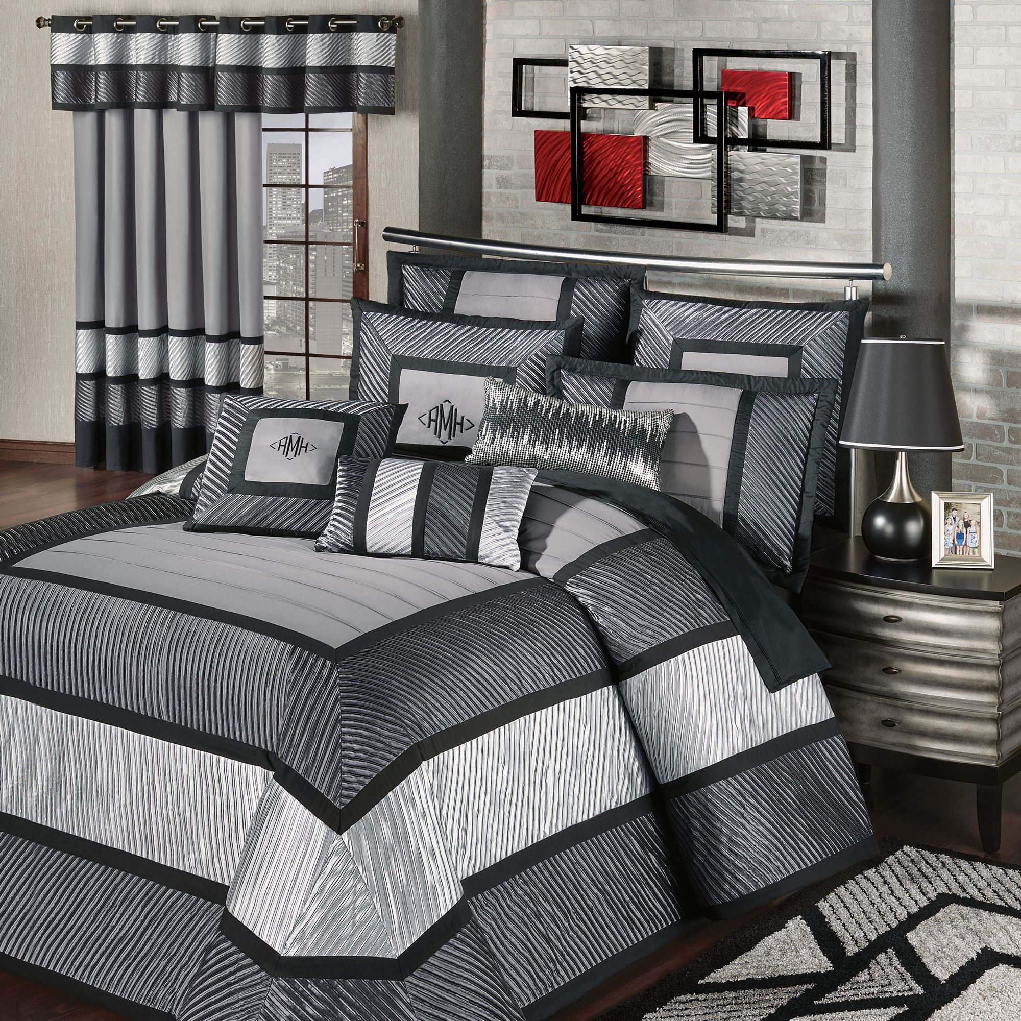 omega modern grande oversized bedspread. contemporary bedspreads  touch of class