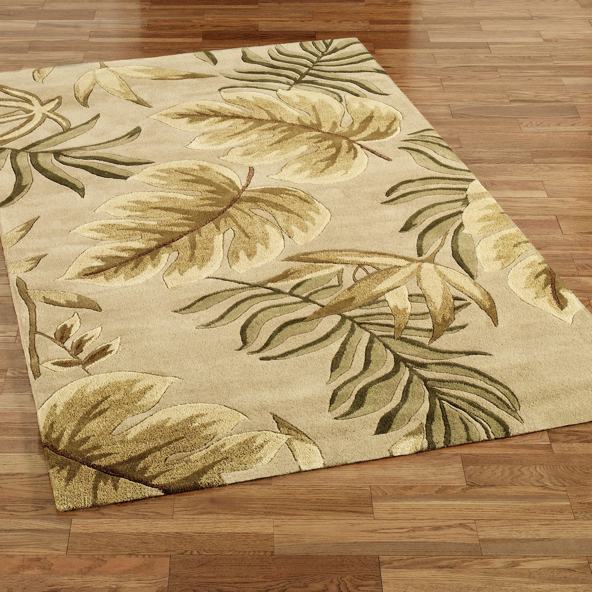 Enchanted Leaves Area Rugs
