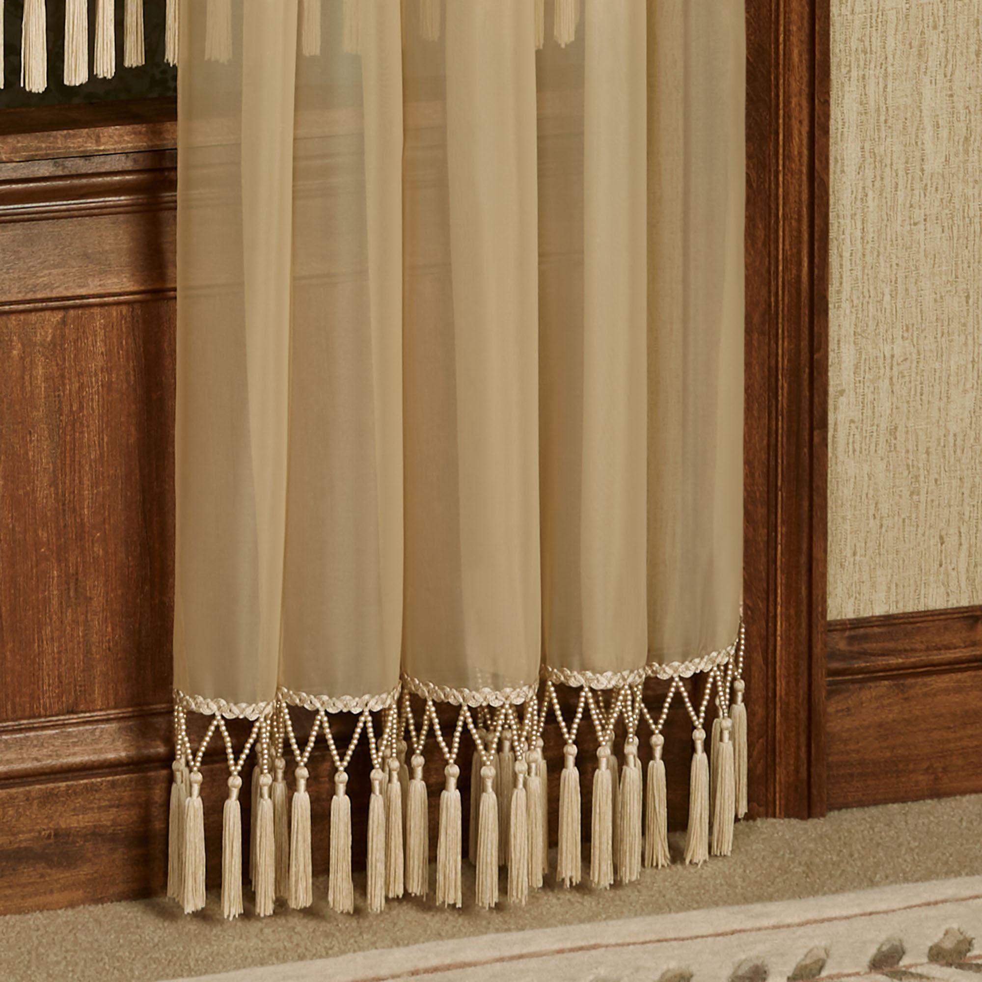 Rajah Pearl Semi Sheer Window Treatment