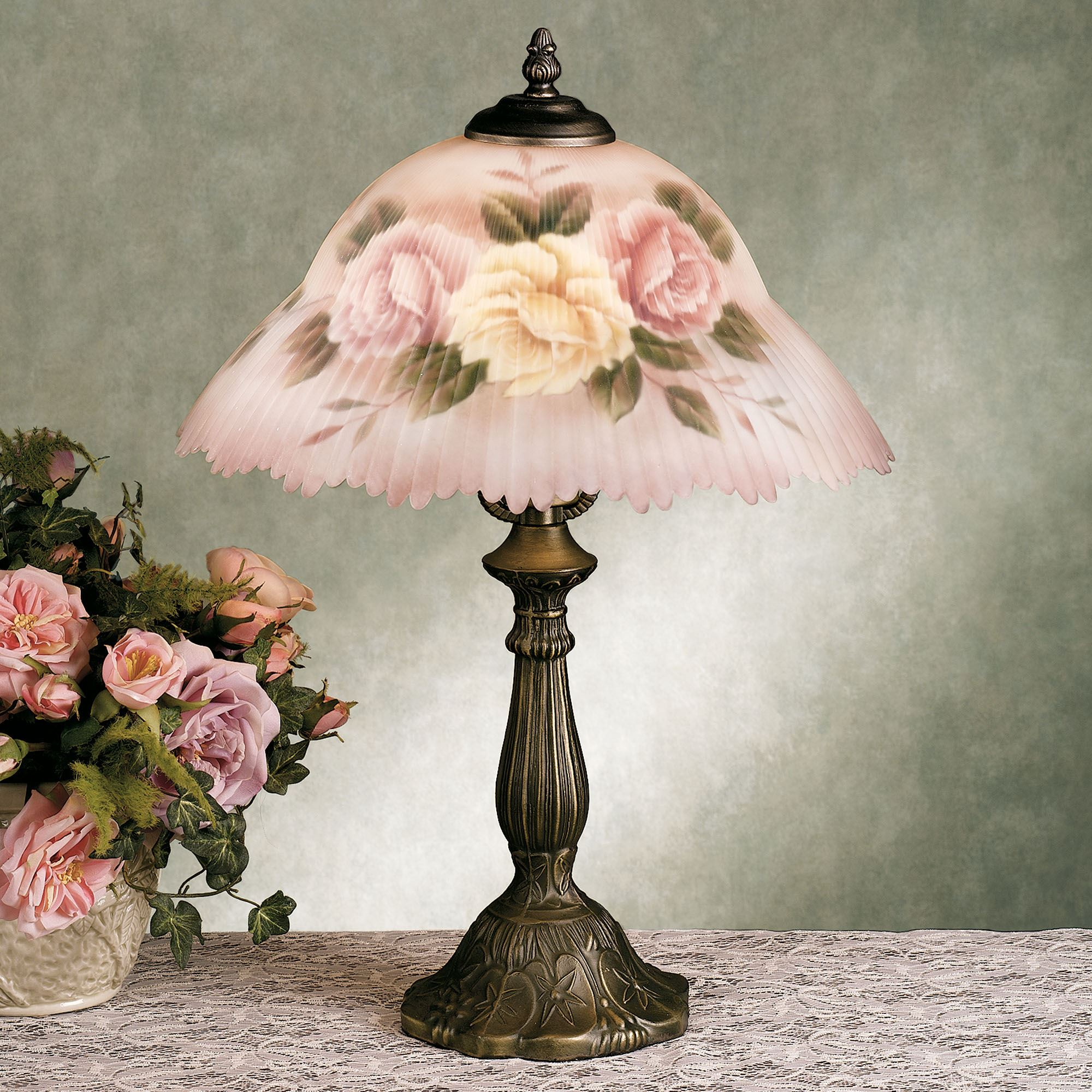 of brass floral pamono floor pearl at mother lamp sale for