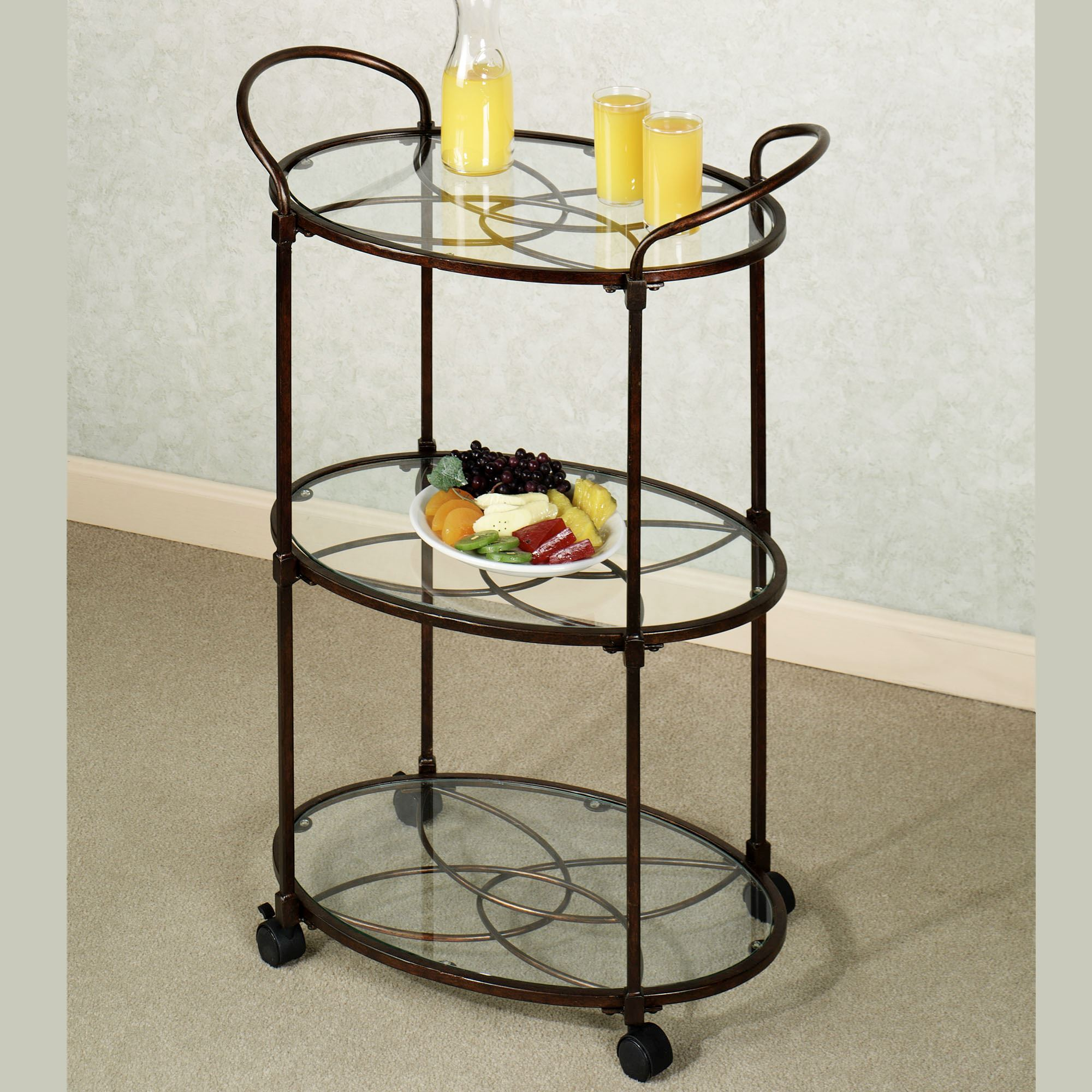 Sphaira Serving Cart Bronze. Click To Expand
