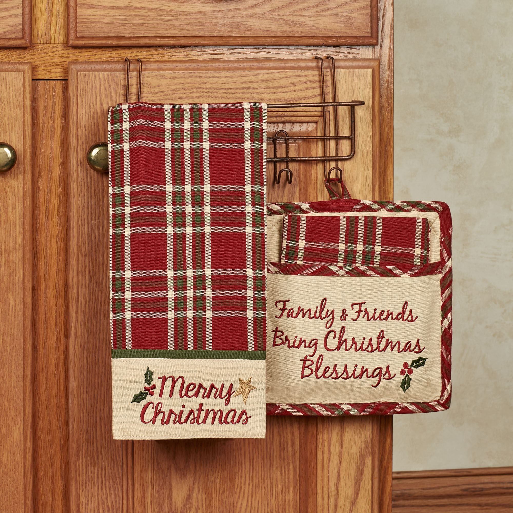 Merry Christmas 3 pc Kitchen Linen Set