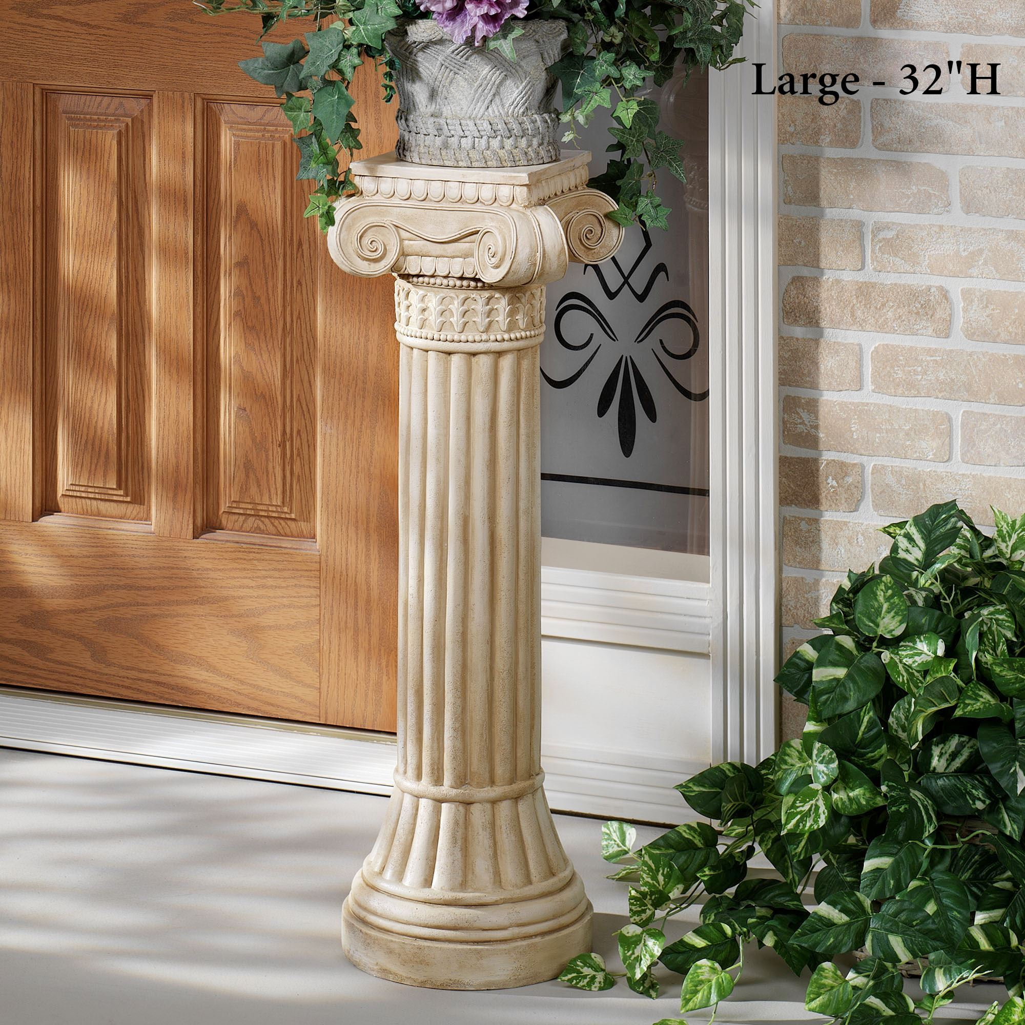 seeded new light pedestal large exterior york lantern aged for matt collection ornate use bronze outdoor medium with in w glass tournai gothic lighting