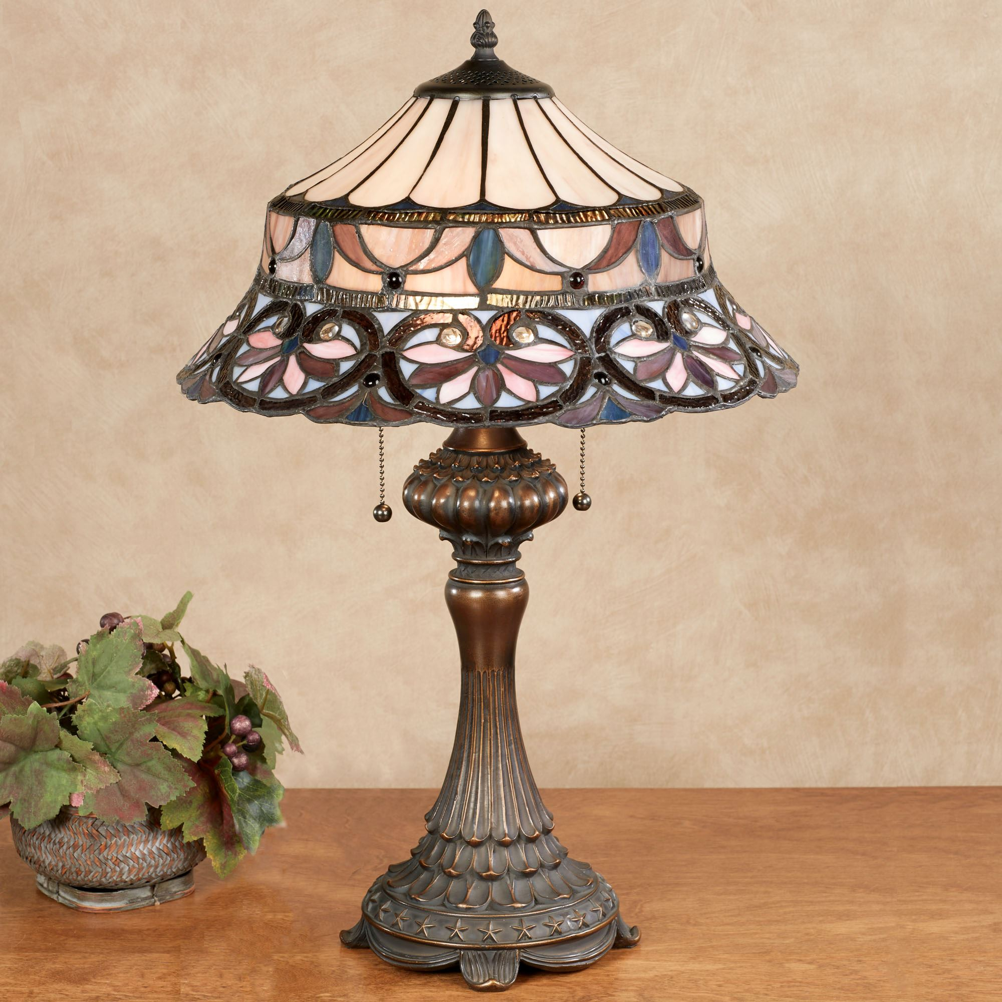 Gabriela Stained Glass Table Lamp