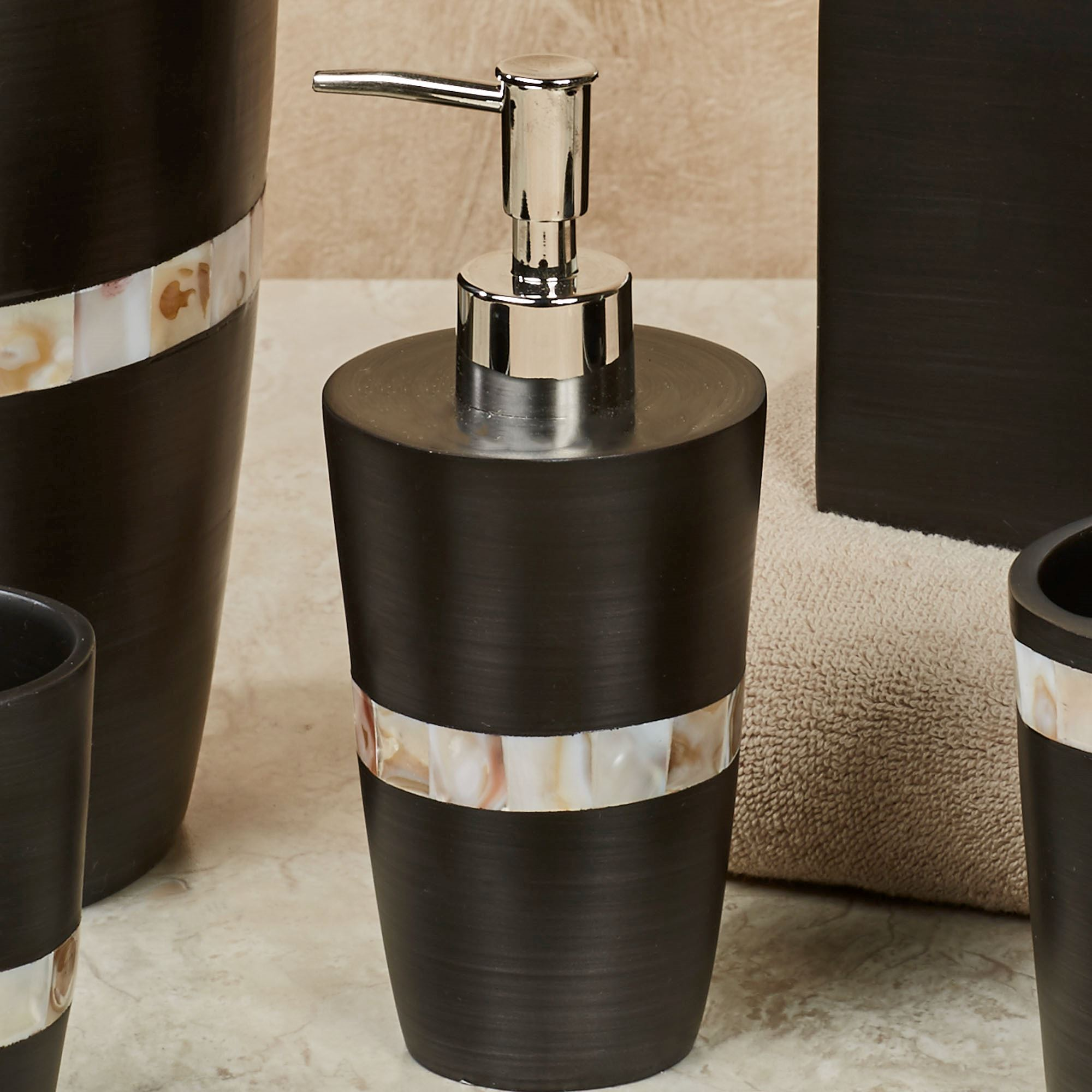 Milano Bath Accessories From Austin Horn Classics